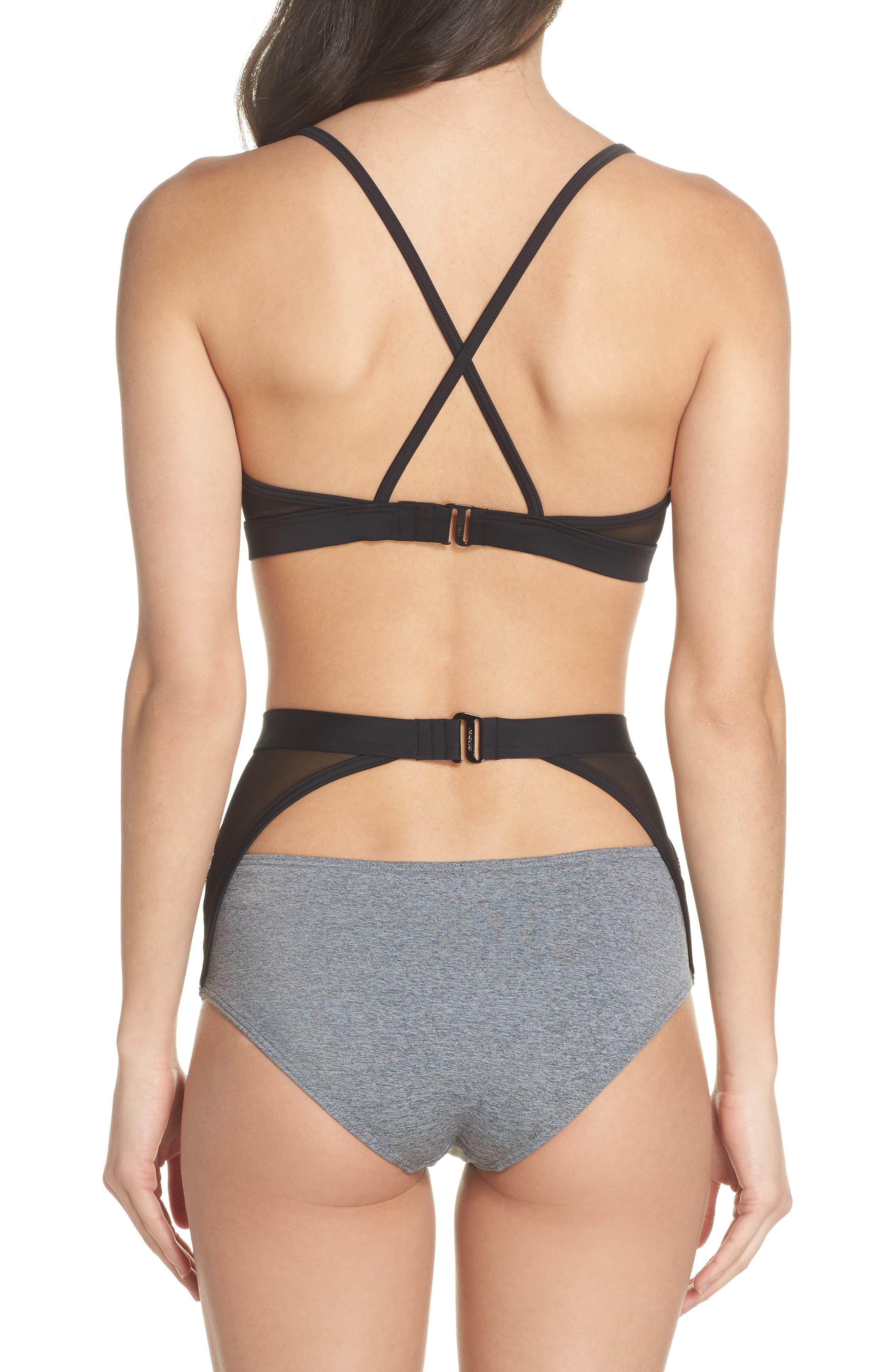 Alva Bikini Top,                             Alternate thumbnail 7, color,                             Heather Grey