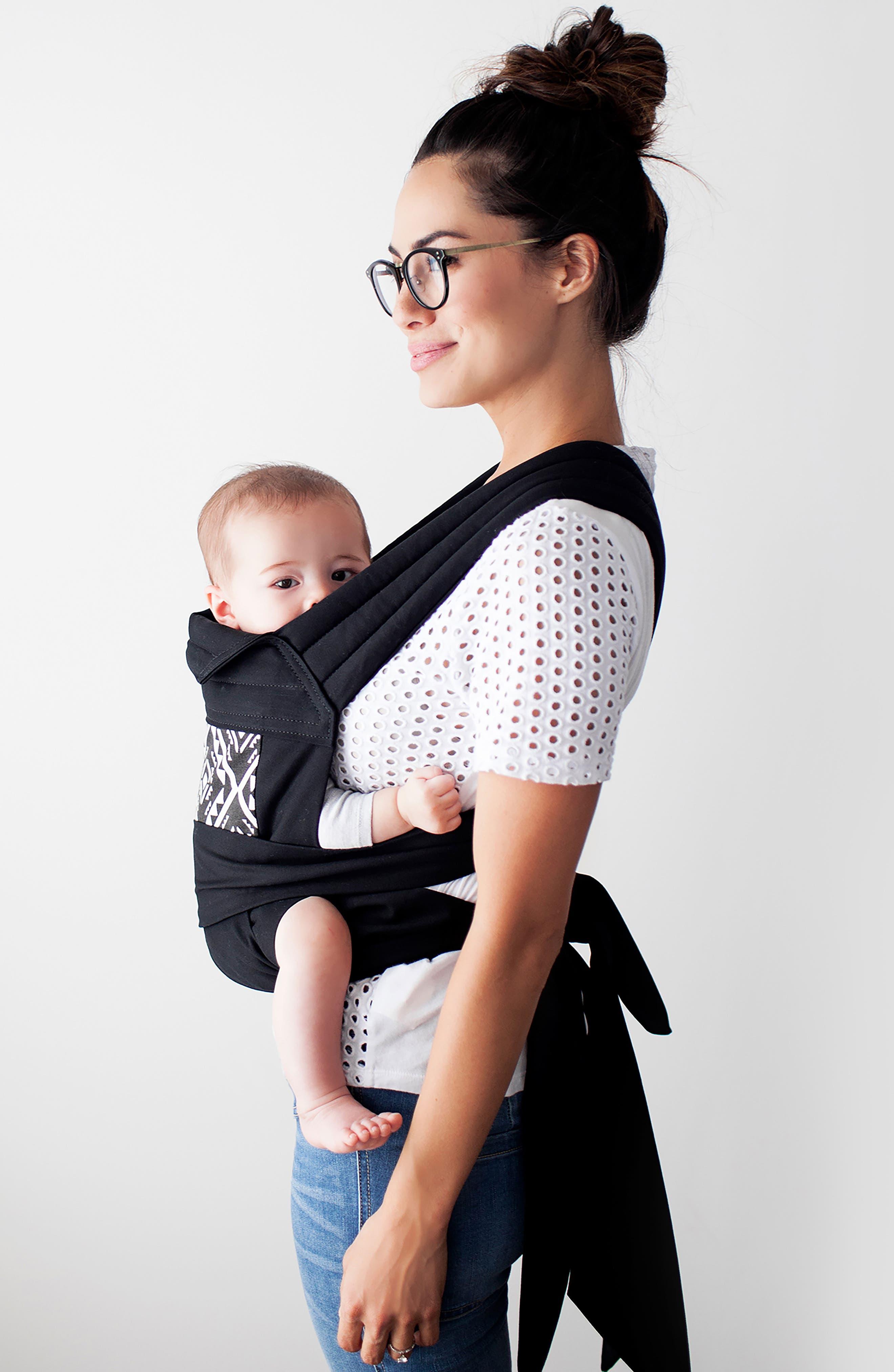 Wrap Double Tie Baby Carrier,                             Alternate thumbnail 3, color,                             Secrets