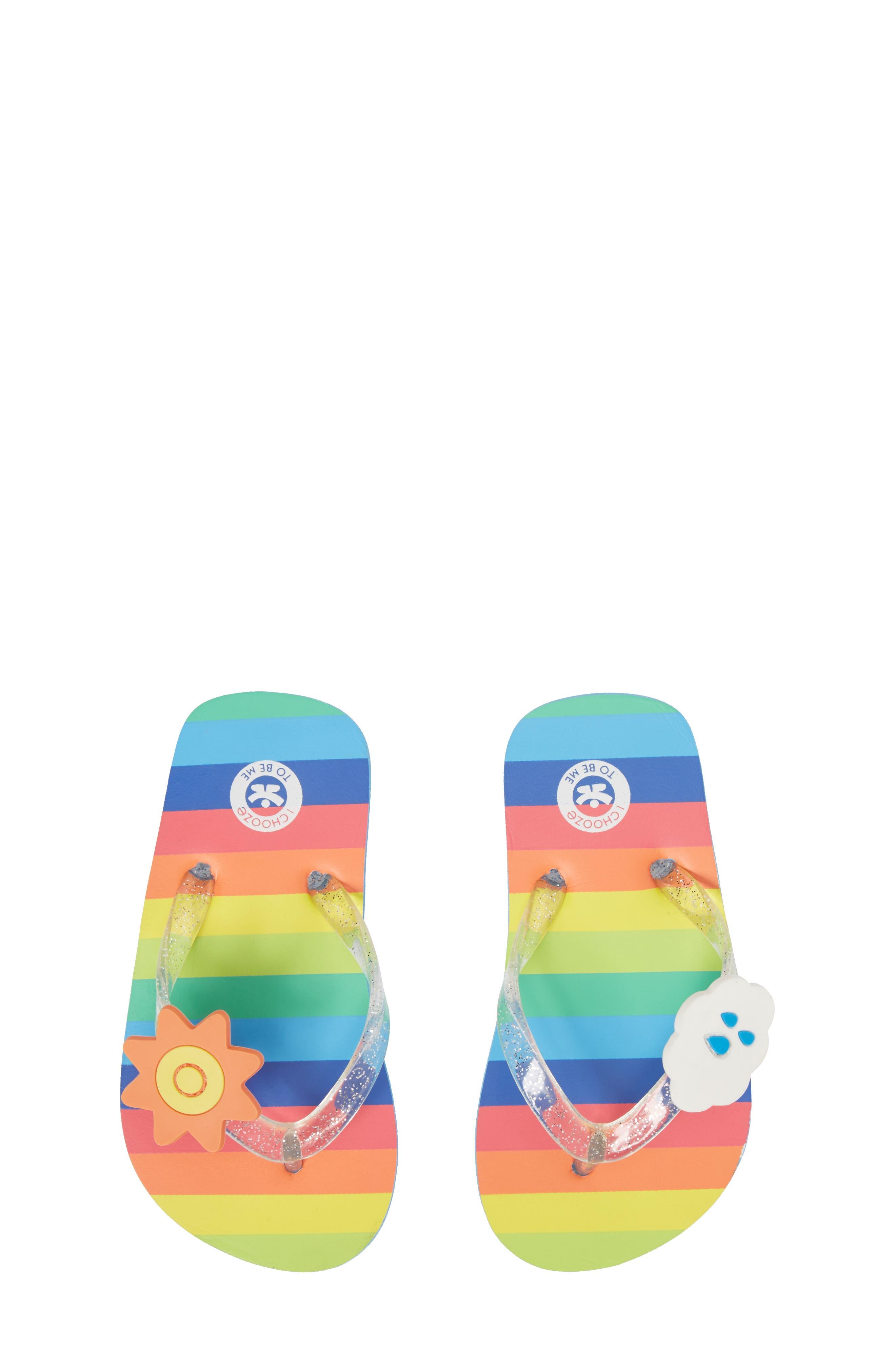 Print Flip Flop,                         Main,                         color, Lucky