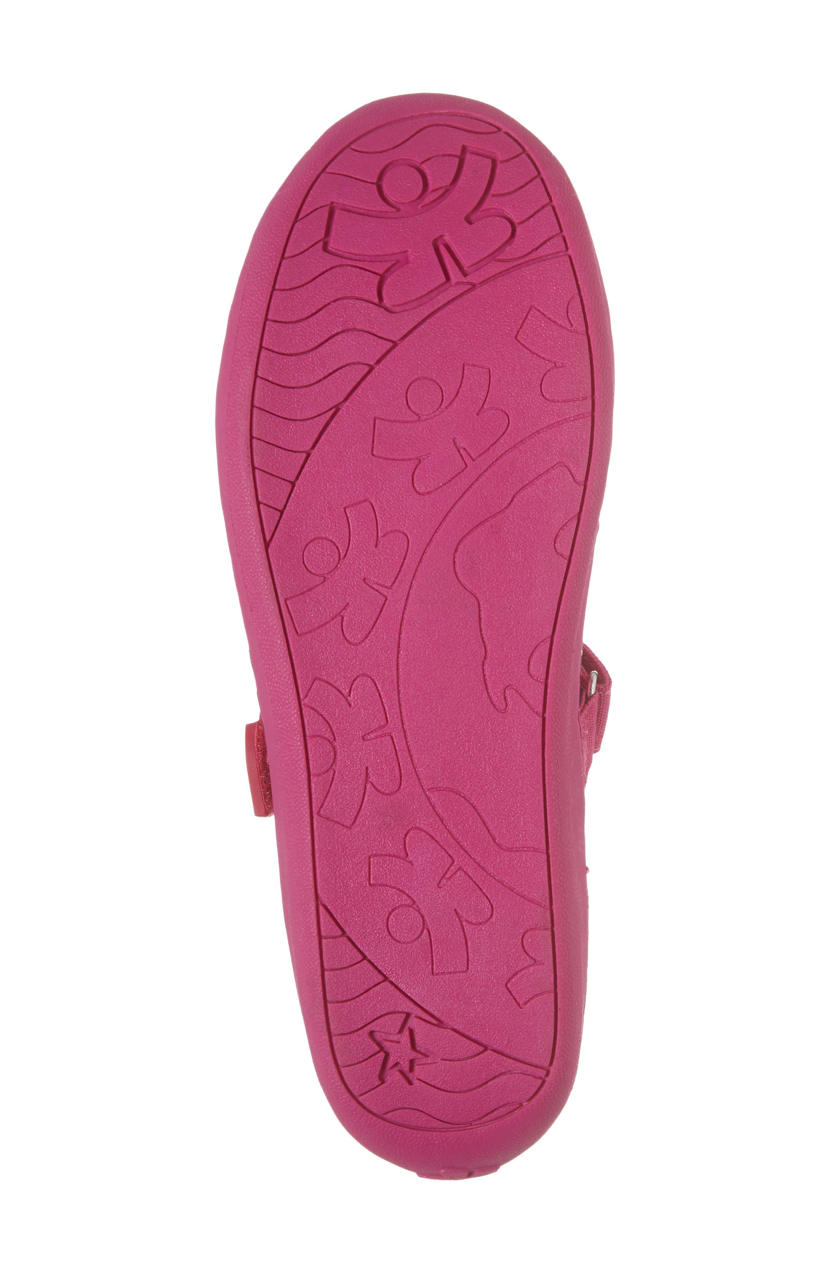 Steady Shimmer Mary Jane Sneaker,                             Alternate thumbnail 6, color,                             Tulip