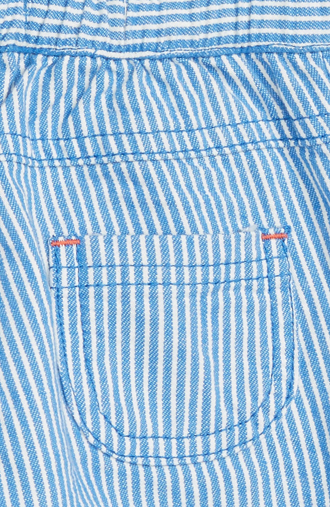 Roll-Up Pants,                             Alternate thumbnail 3, color,                             Skipper Ticking Strip