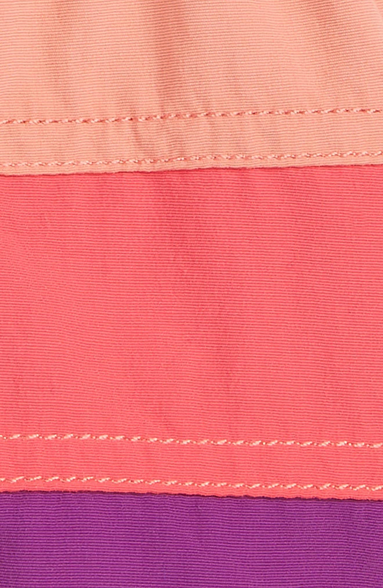 Alternate Image 2  - Patagonia Board Shorts (Baby Girls)