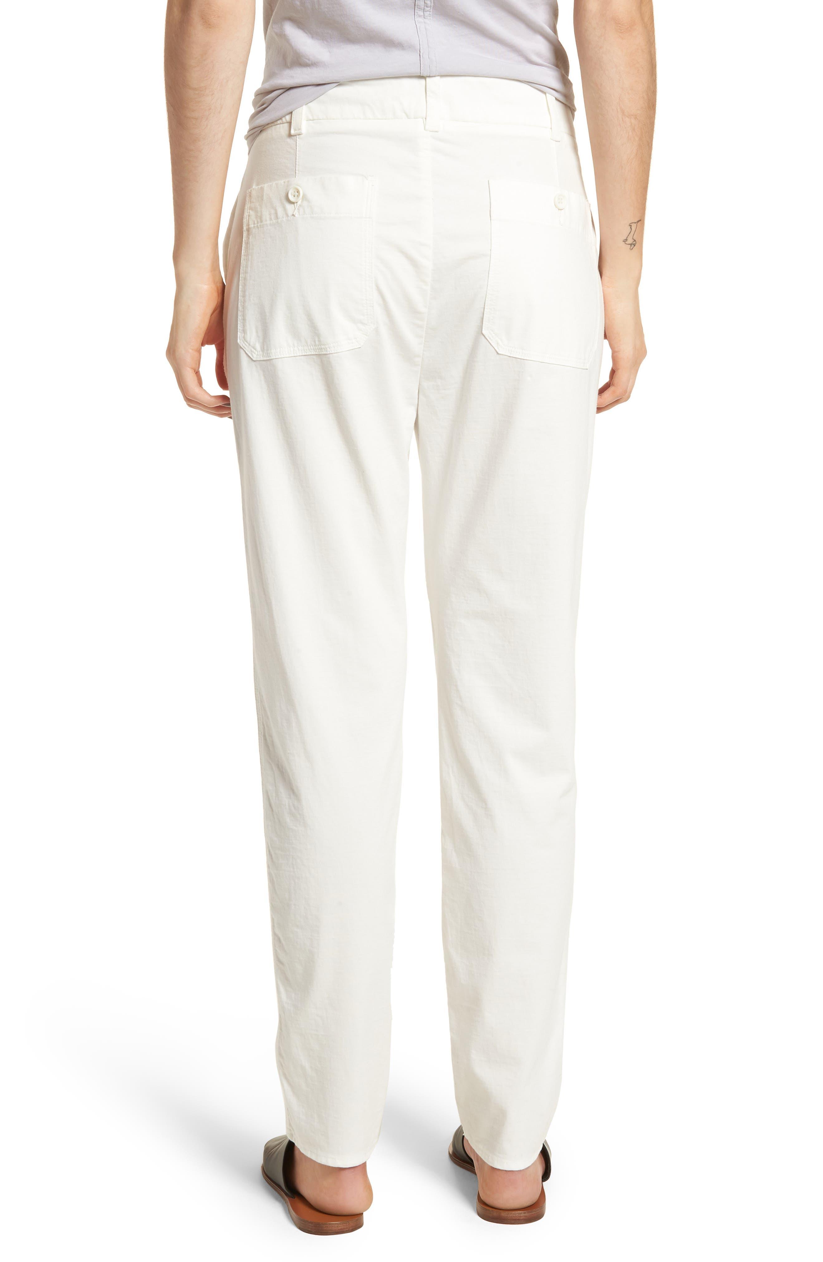 Full Surplus Jersey Pants,                             Alternate thumbnail 2, color,                             White