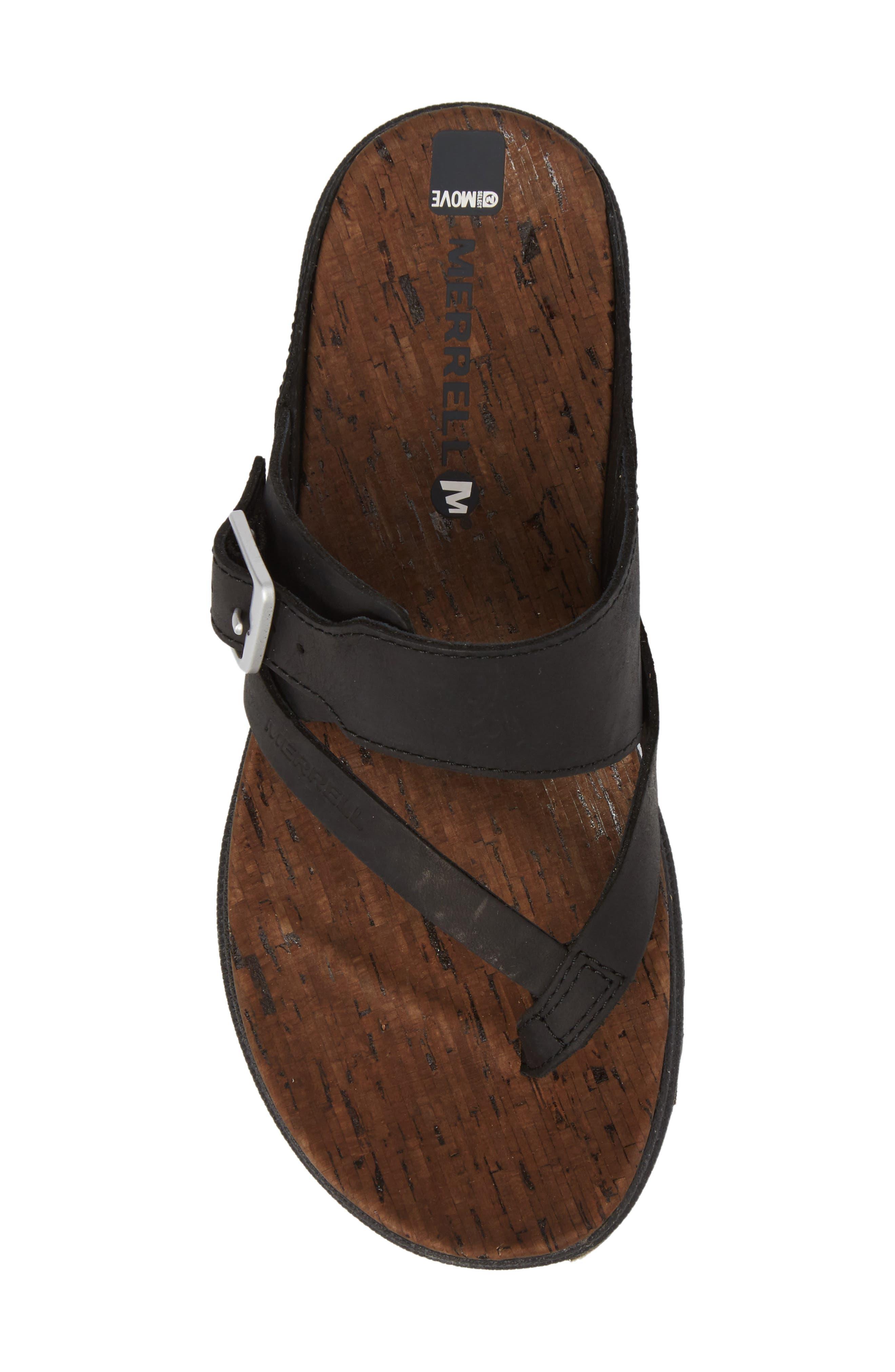 Alternate Image 4  - Merrell Around Town Buckle Slide Sandal (Women)
