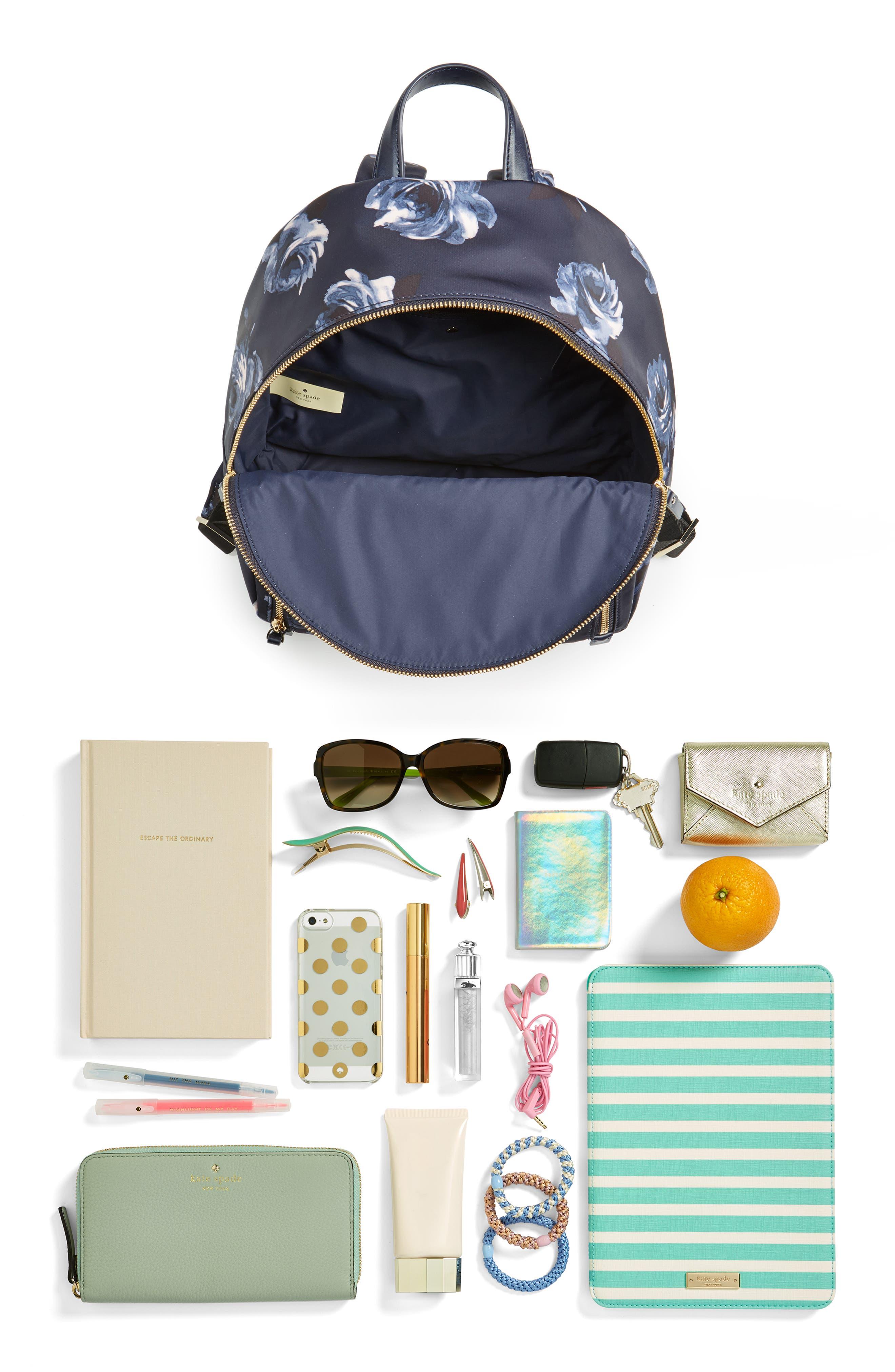 watson lane night rose hartley nylon backpack,                             Alternate thumbnail 7, color,