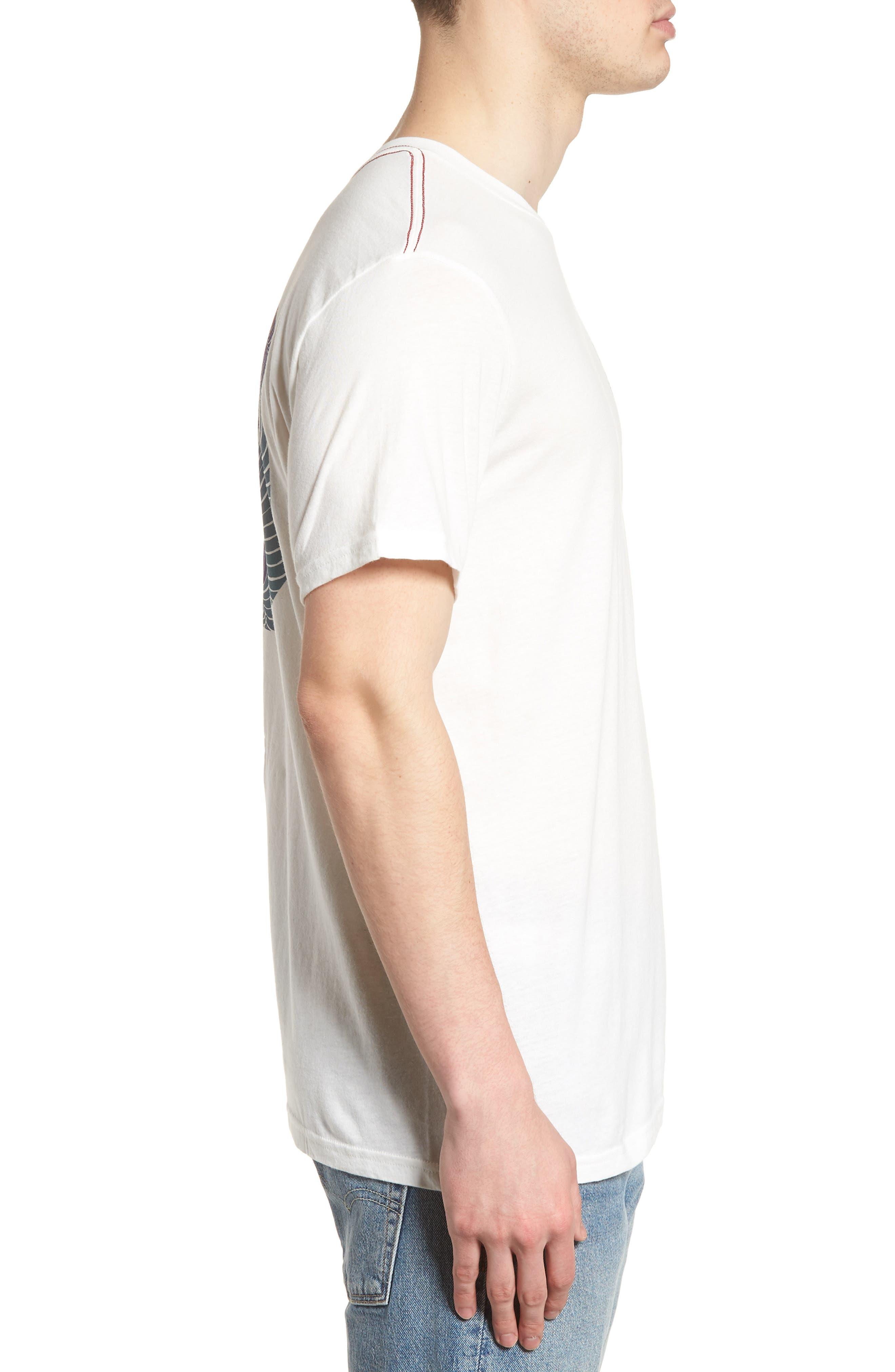 Kelsey ANP Motors T-Shirt,                             Alternate thumbnail 3, color,                             Ivory