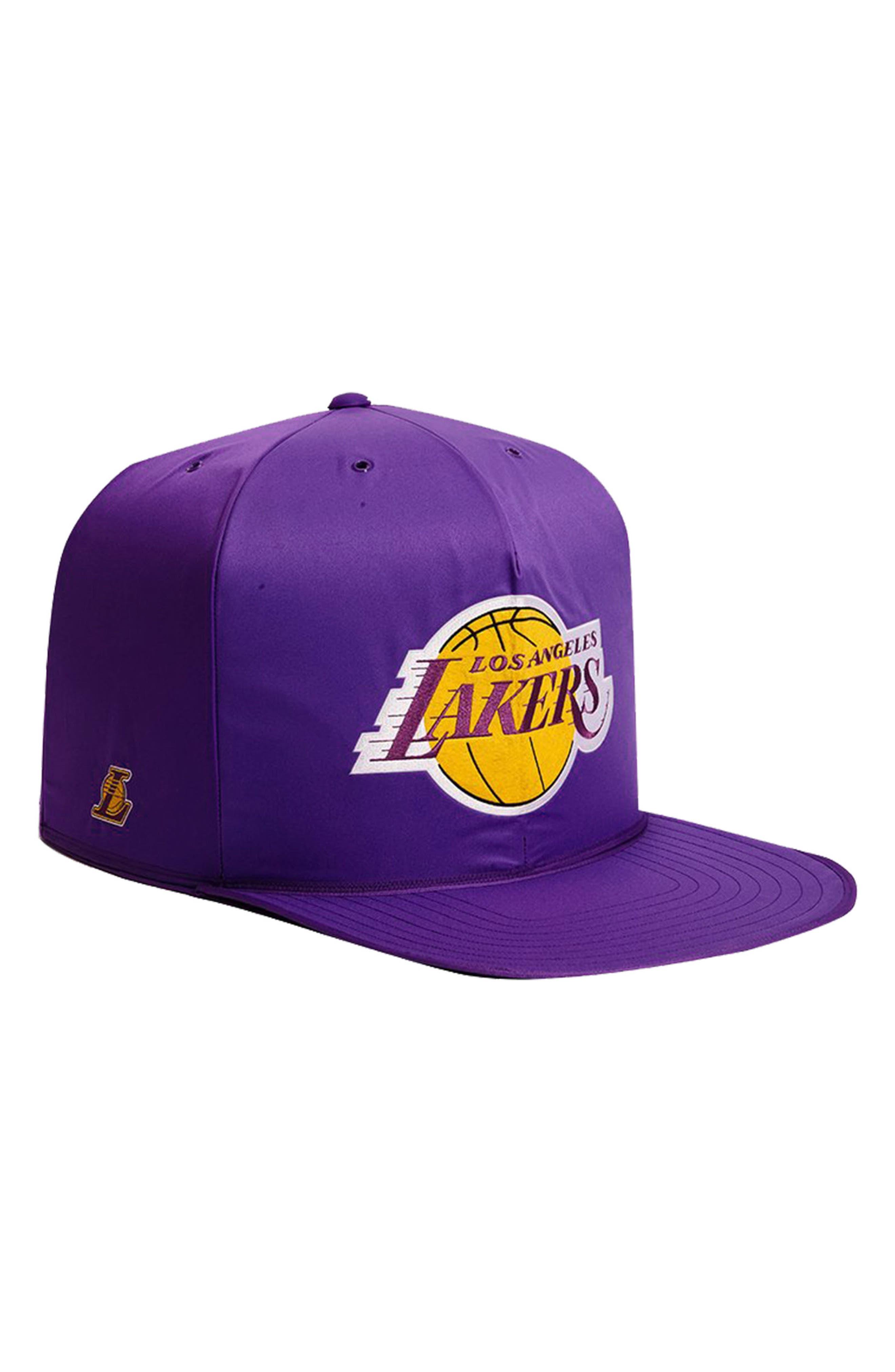 Los Angeles Lakers Pet Bed,                             Main thumbnail 1, color,                             Purple