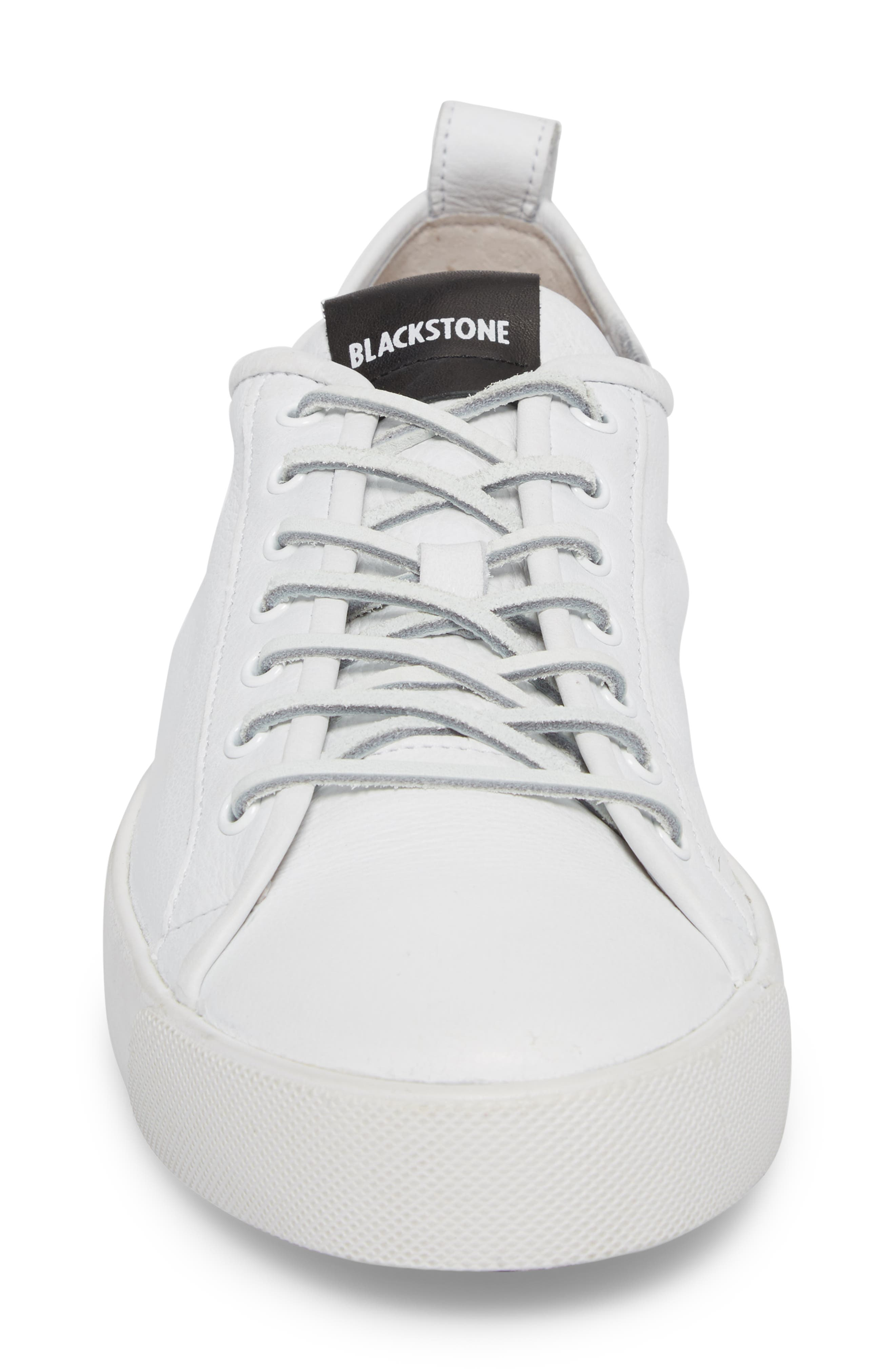 PM66 Low Top Sneaker,                             Alternate thumbnail 4, color,                             White Leather