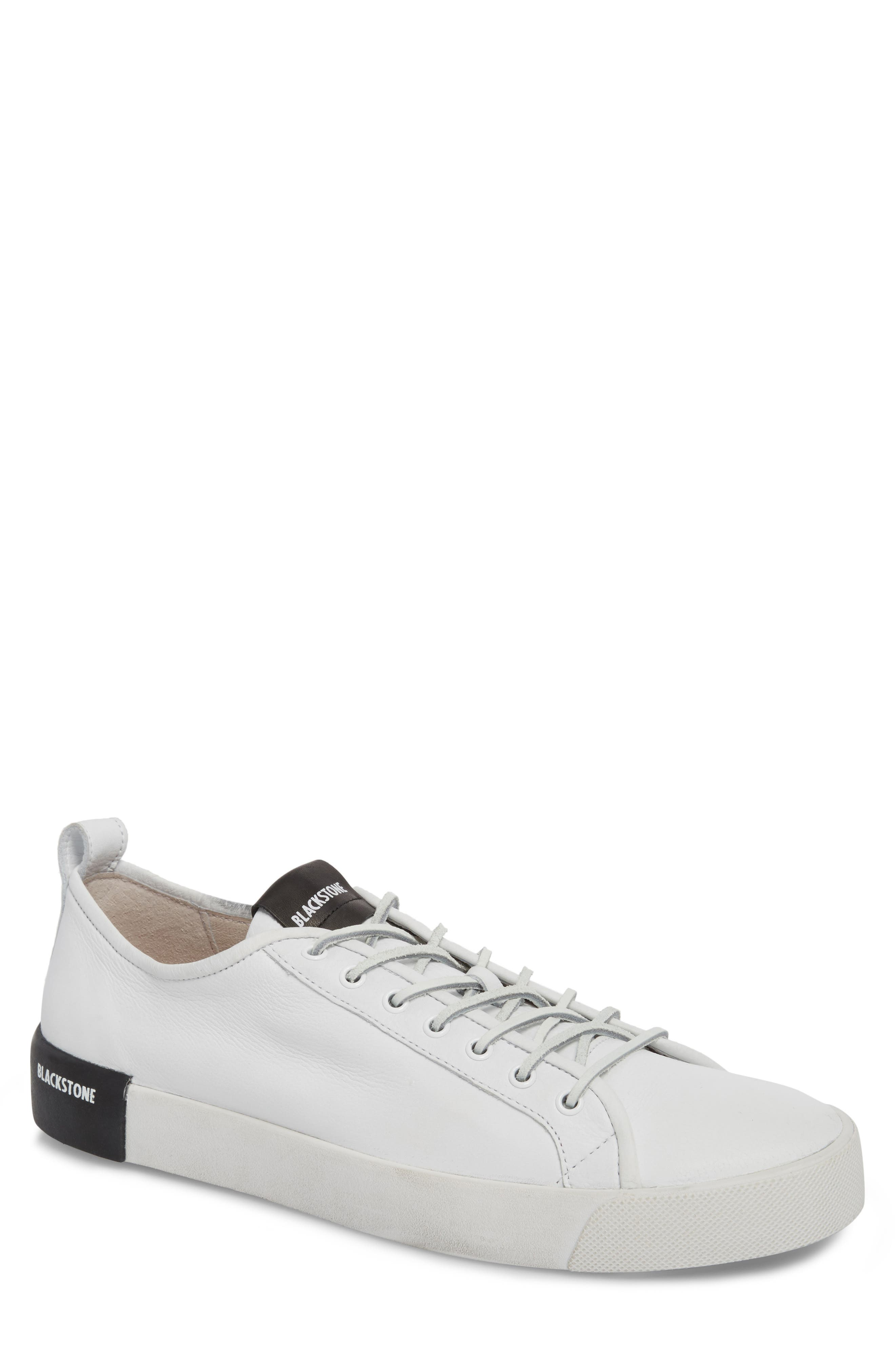 PM66 Low Top Sneaker,                             Main thumbnail 1, color,                             White Leather