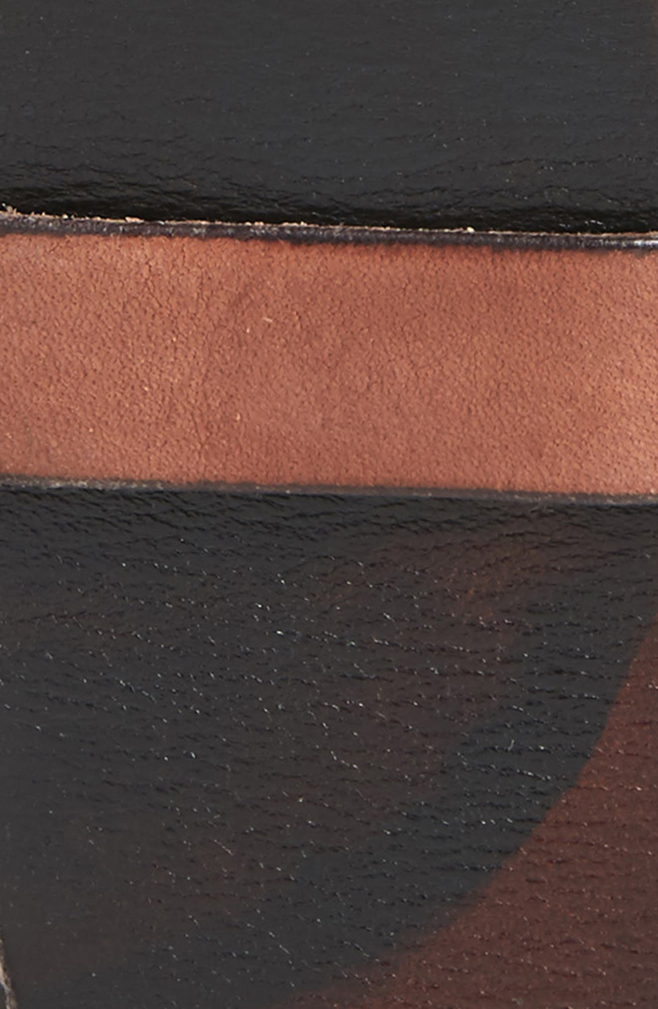 Alternate Image 2  - John Varvatos Star USA Marble Stained Leather Belt