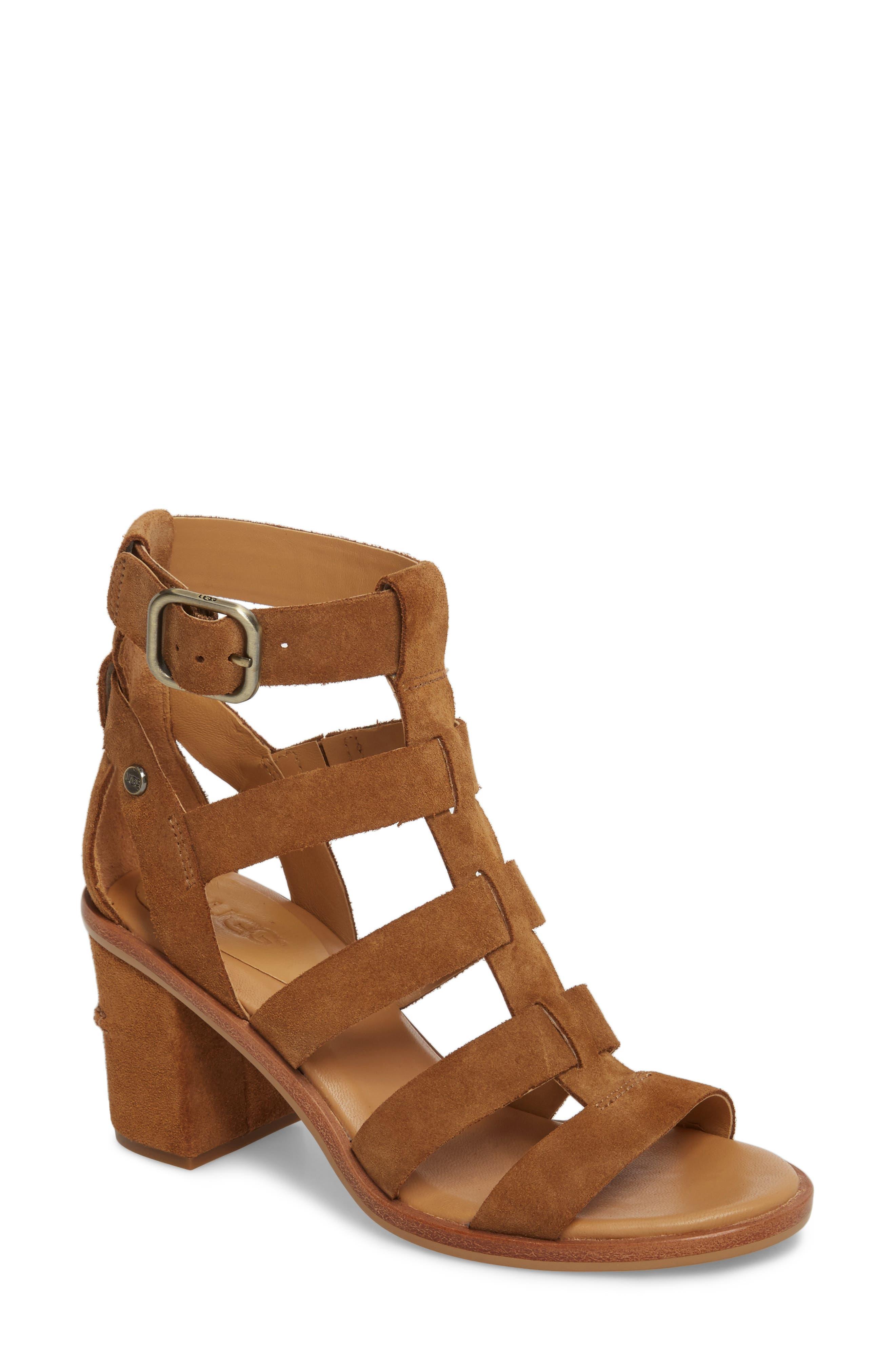 UGG® Macayla Block Heel Sandal (Women)
