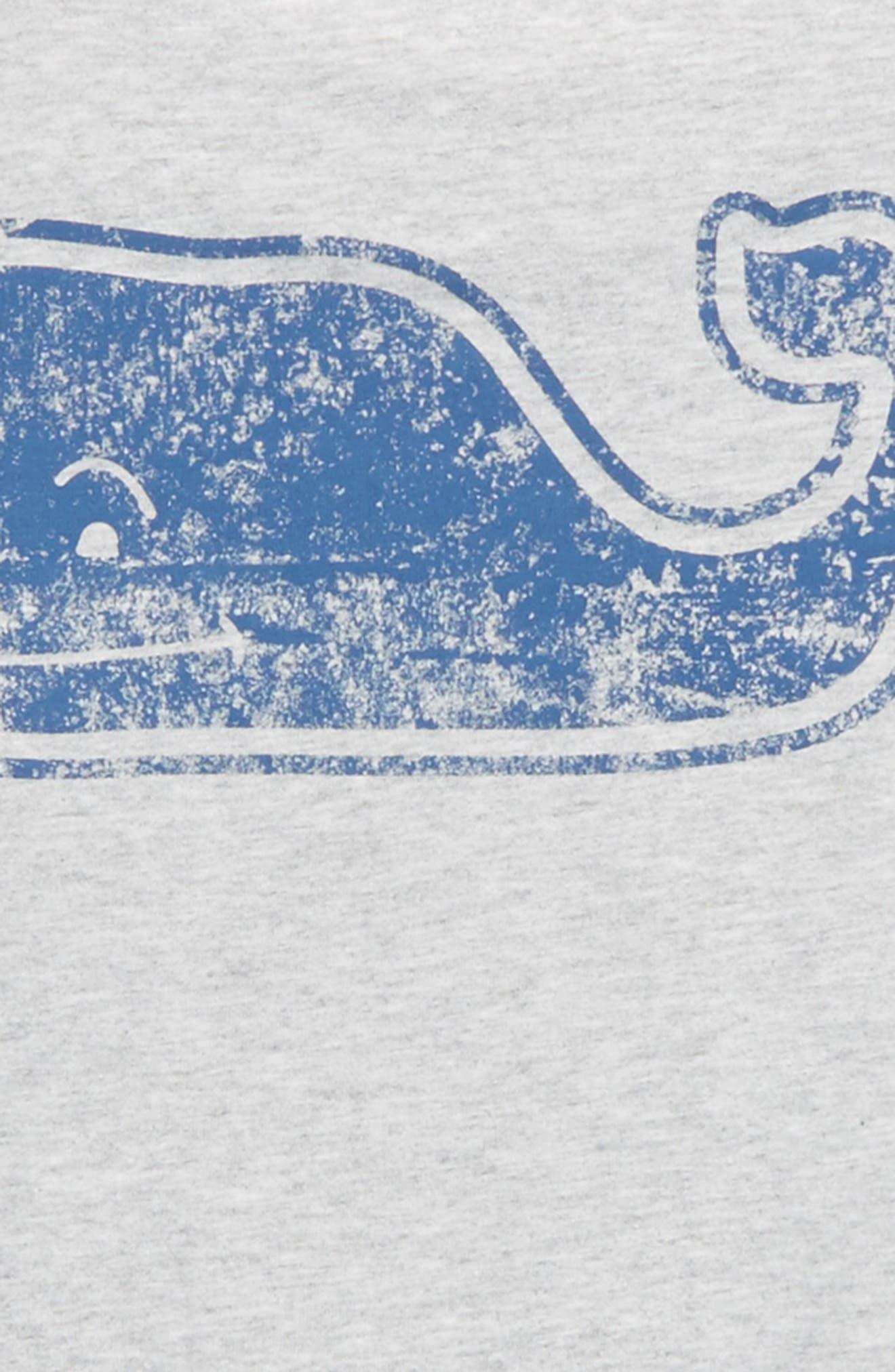 Vintage Whale Pocket T-Shirt,                             Alternate thumbnail 3, color,                             Gray Heather