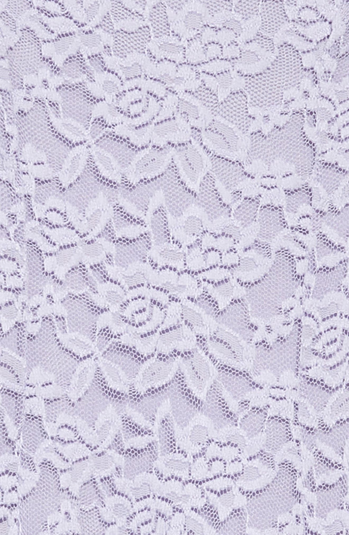 Floral Lace Sleeveless Dress,                             Alternate thumbnail 2, color,                             Lilac