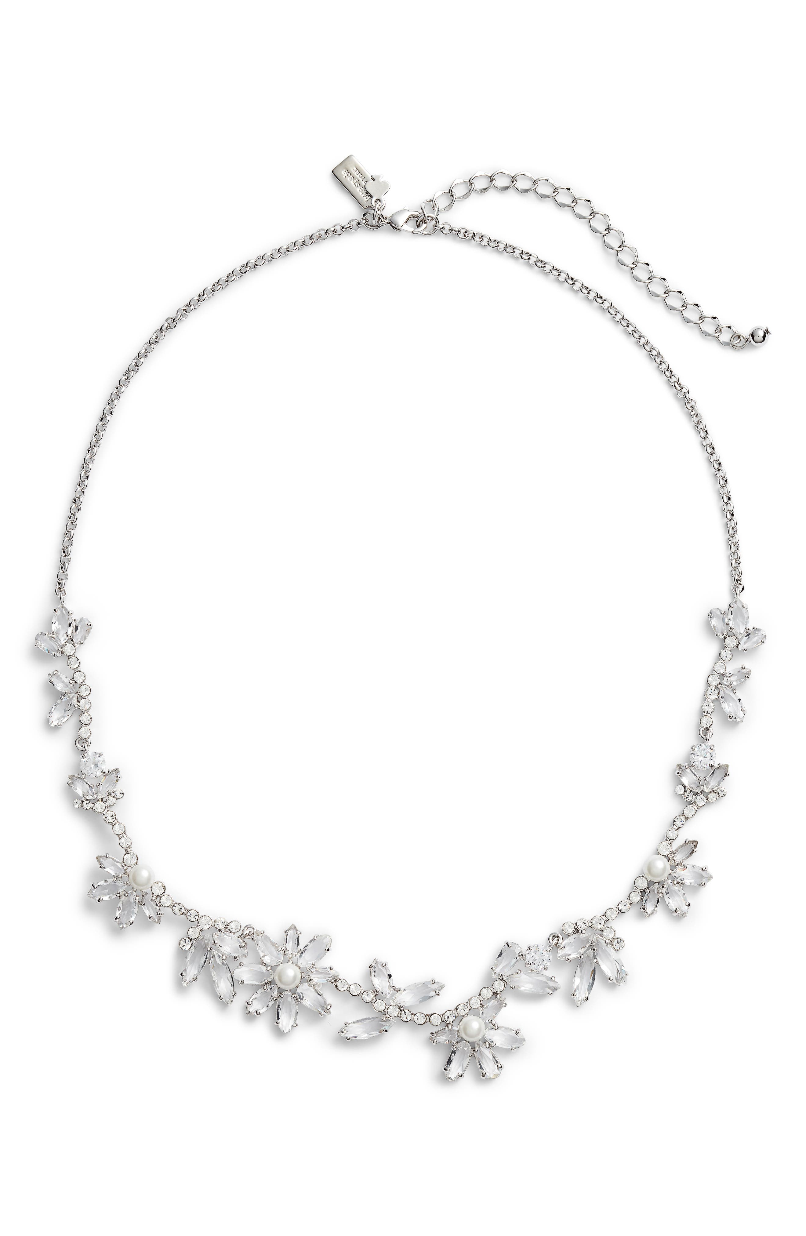 kate spade new york pearly sparkle necklace