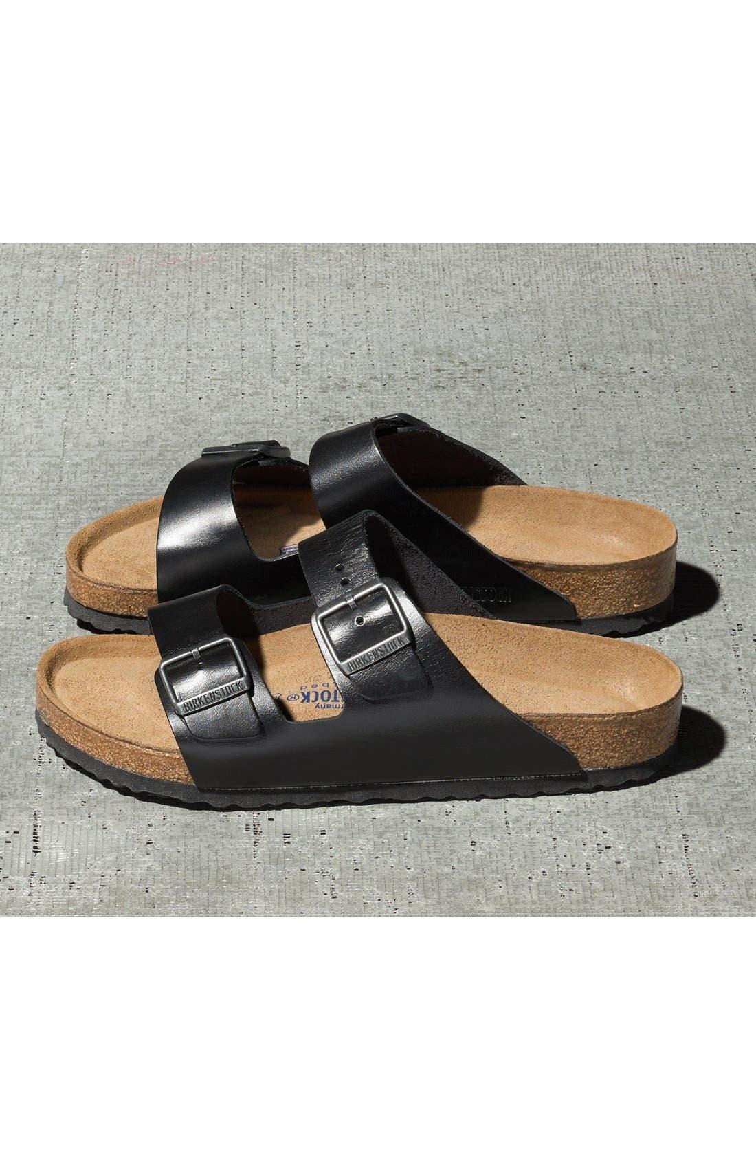Alternate Image 6  - Birkenstock 'Arizona Soft' Sandal   (Men)