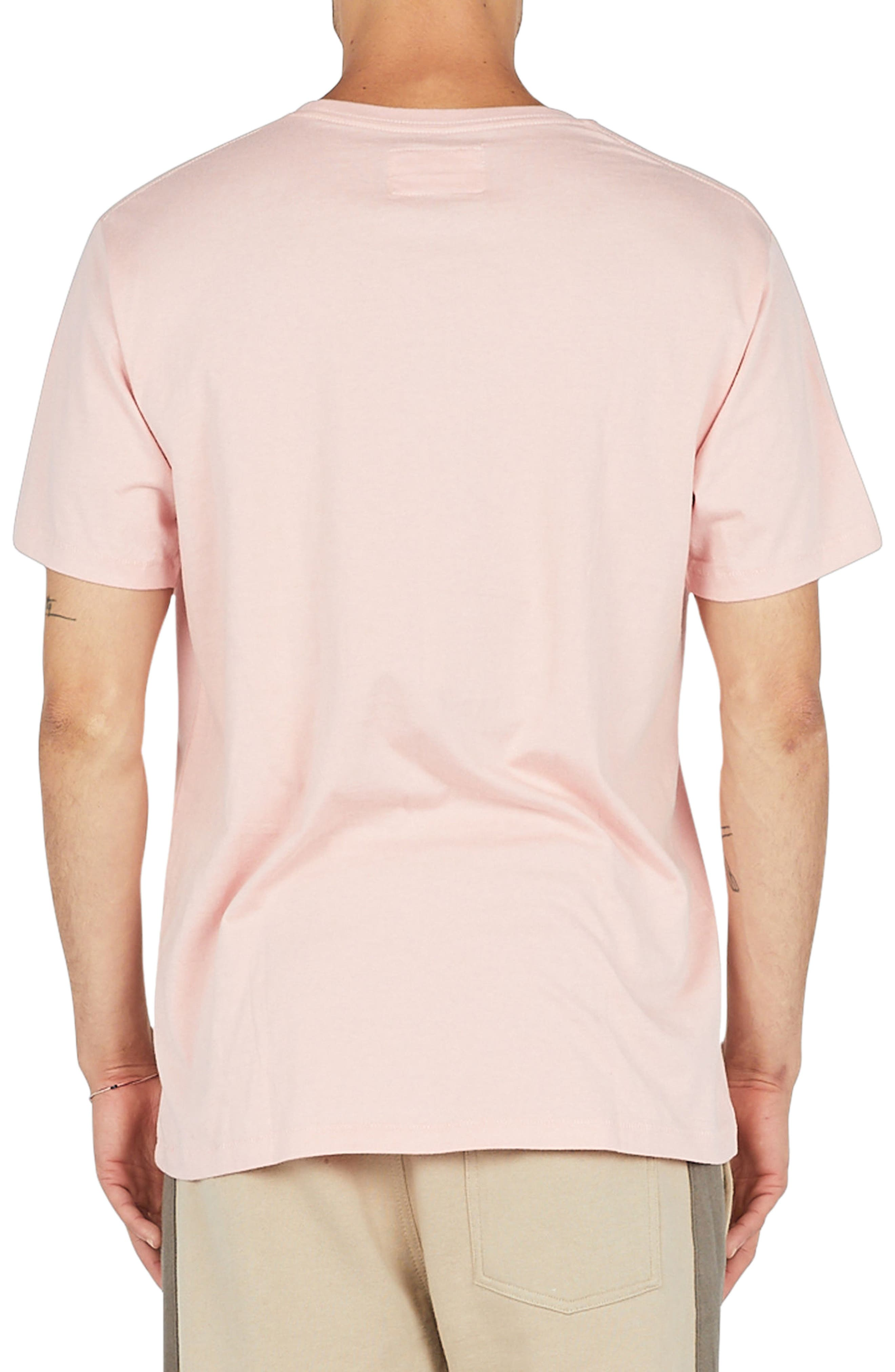 Embroidered Logo T-Shirt,                             Alternate thumbnail 2, color,                             Pink