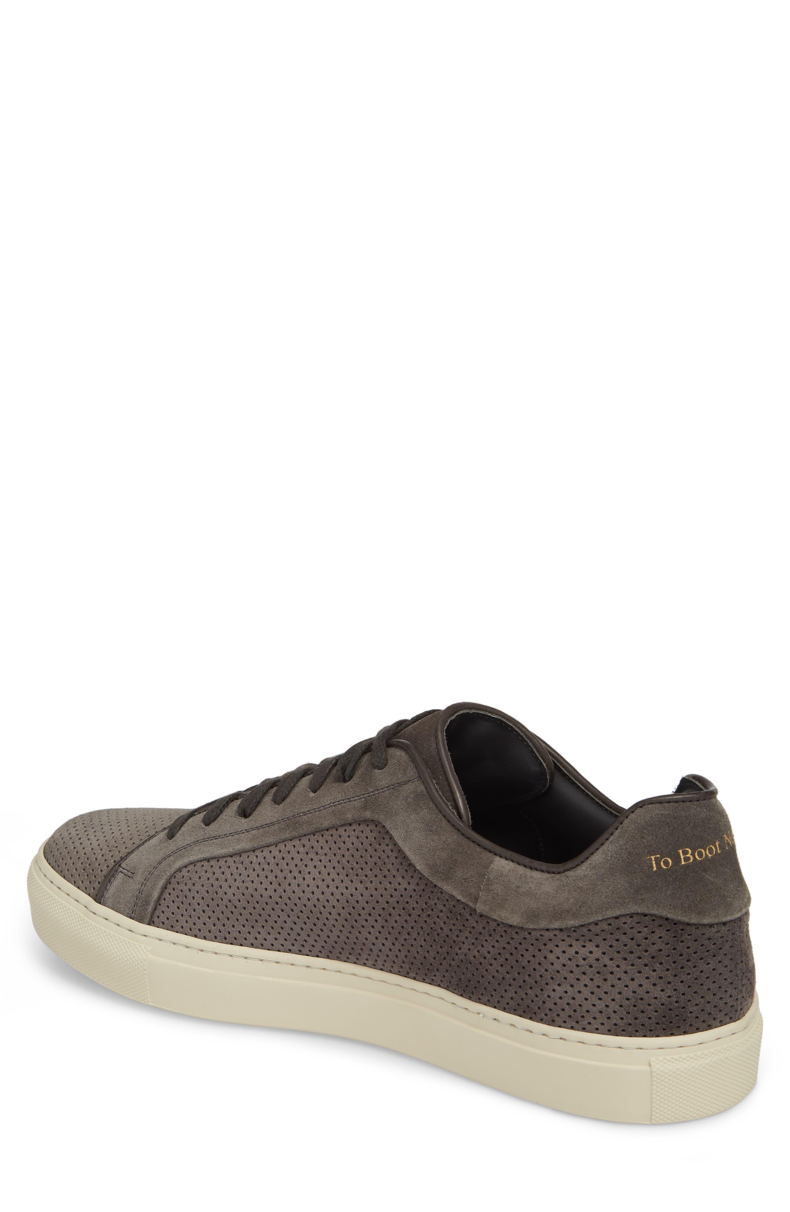 Hendrick Perforated Sneaker,                             Alternate thumbnail 2, color,                             Lavagna