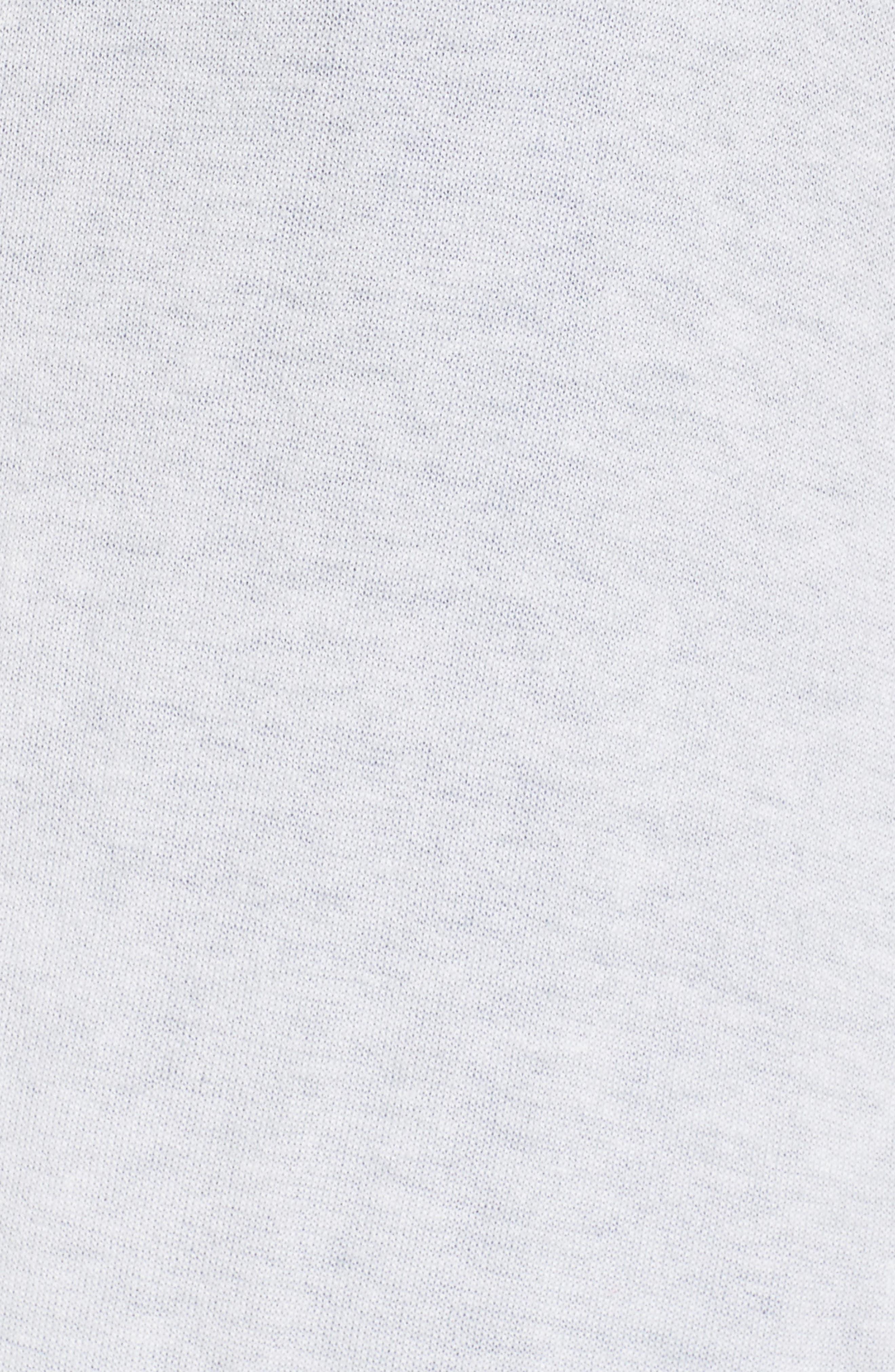 Traveler Long Cardigan,                             Alternate thumbnail 6, color,                             Putty Mix