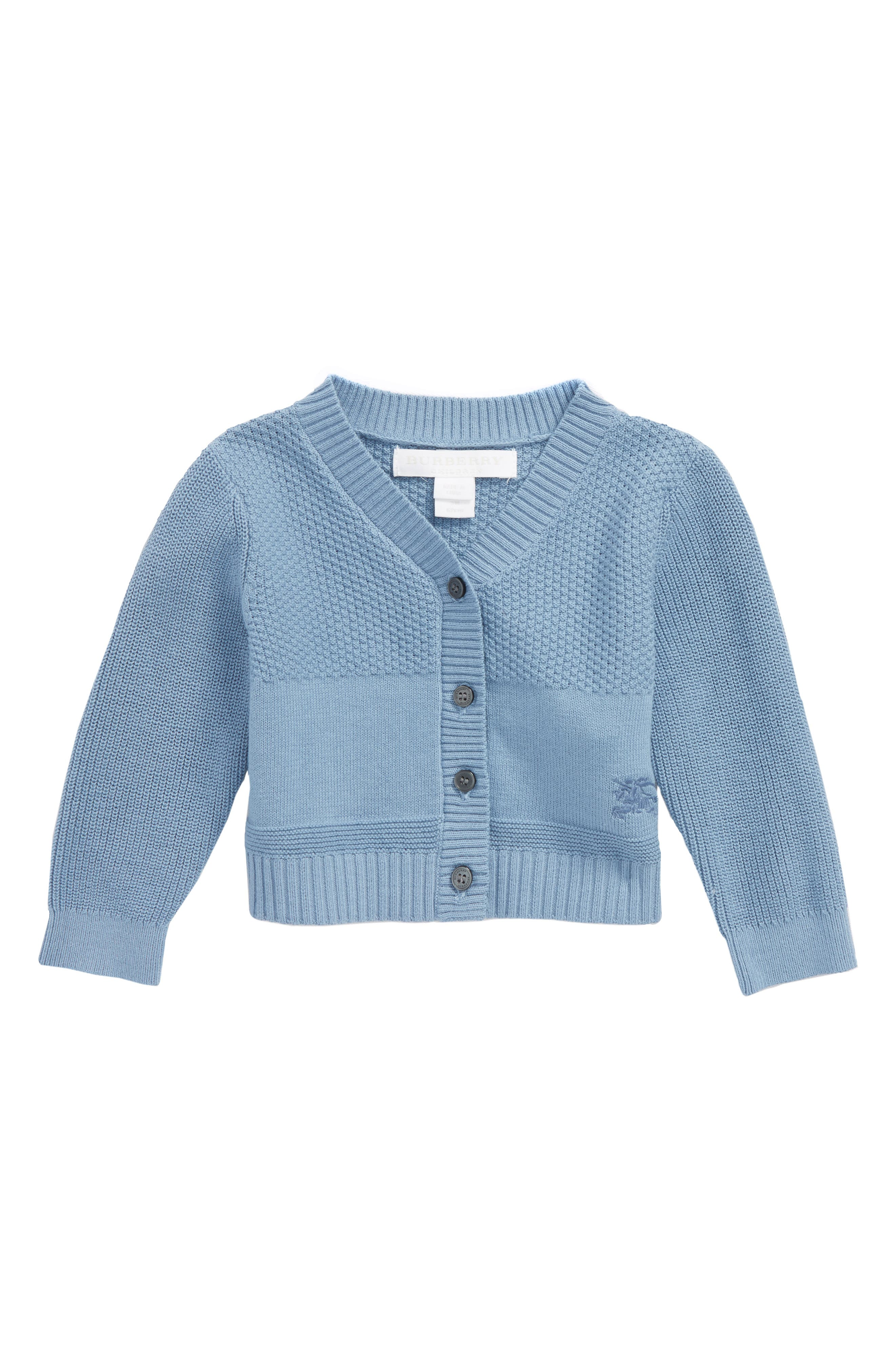 Francis Sweater Cardigan,                         Main,                         color, Chalk Blue