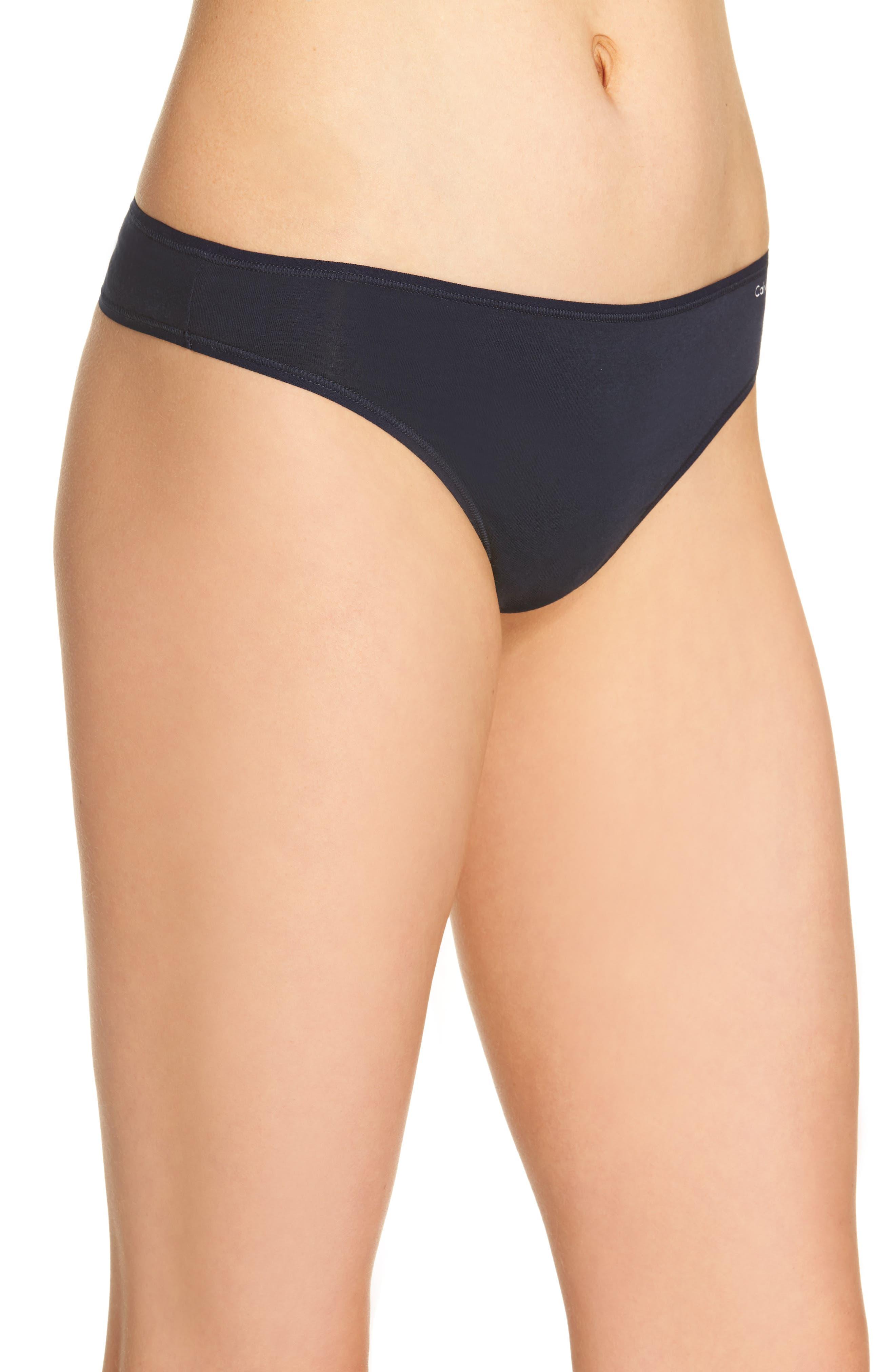 Alternate Image 3  - Calvin Klein Form Thong (3 for $33)