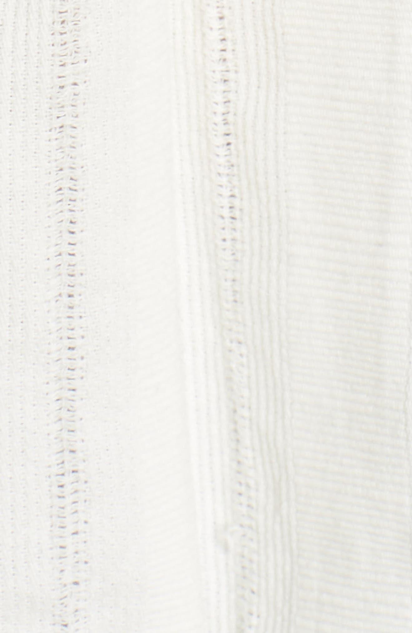 Leelee Smocked Tank,                             Alternate thumbnail 6, color,                             Vintage White