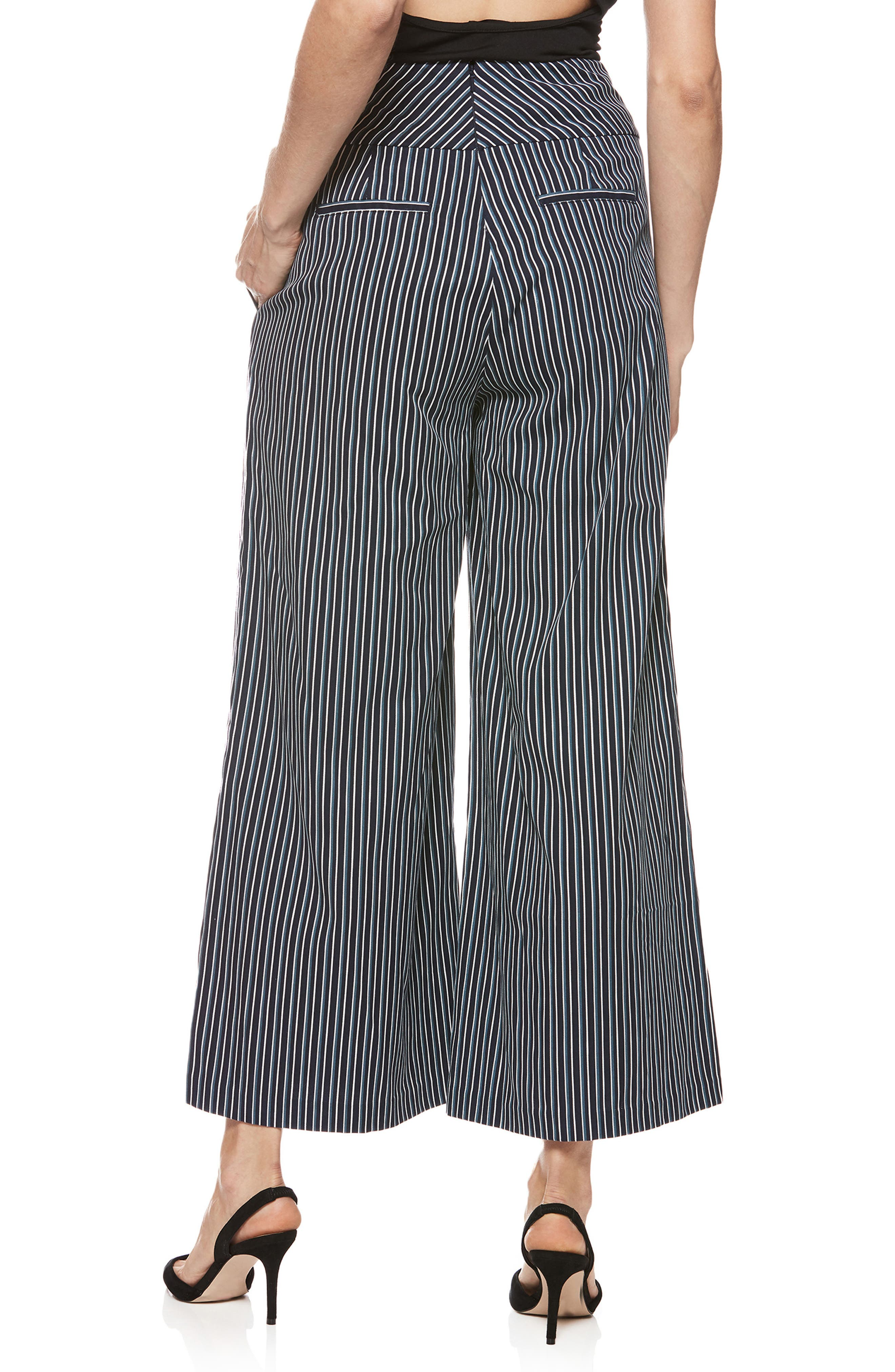 Charisma Pants,                             Alternate thumbnail 2, color,                             Rich Navy Multi