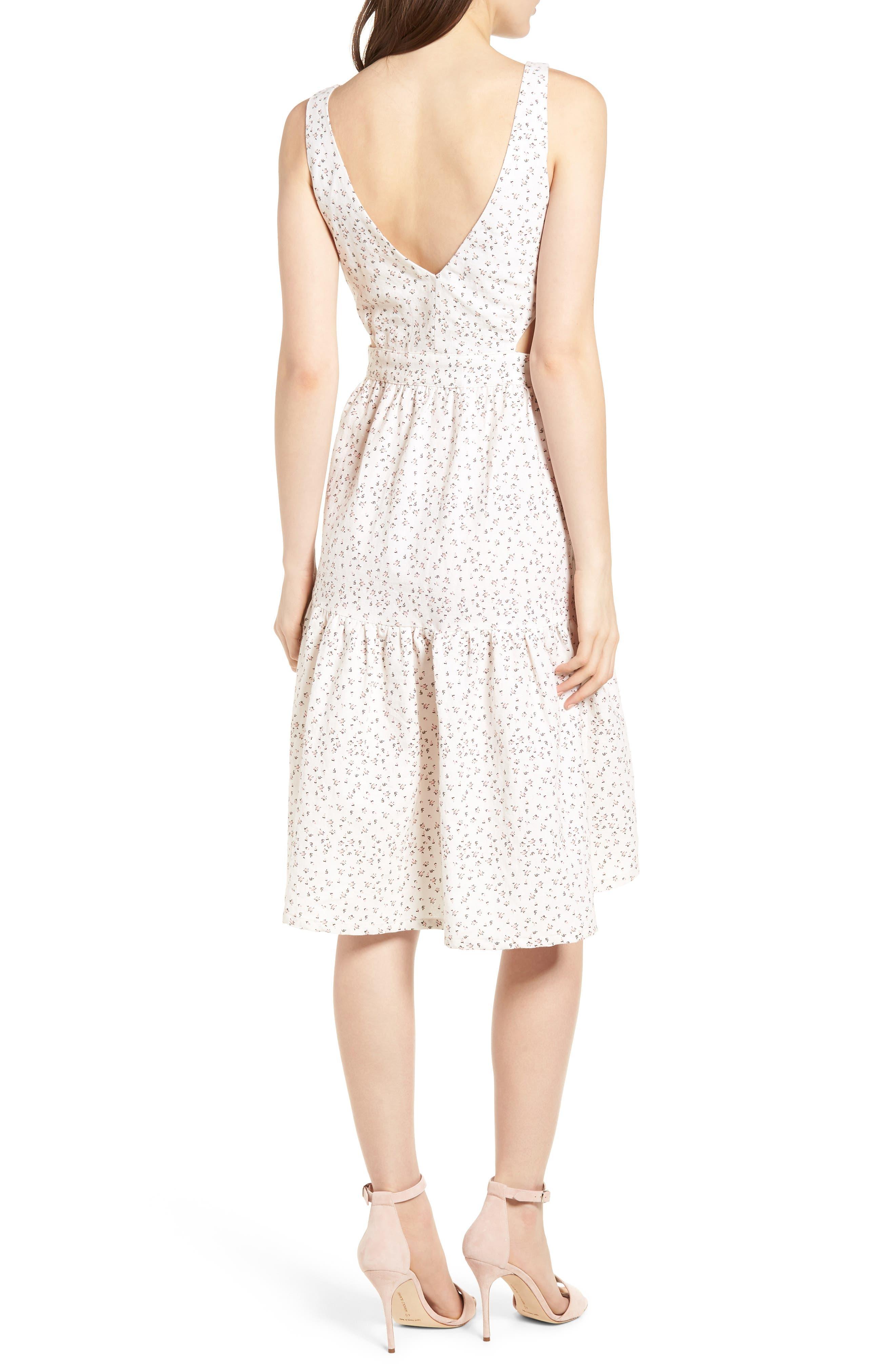 Alternate Image 2  - McGuire Palizzi Cutout Tie Front Dress
