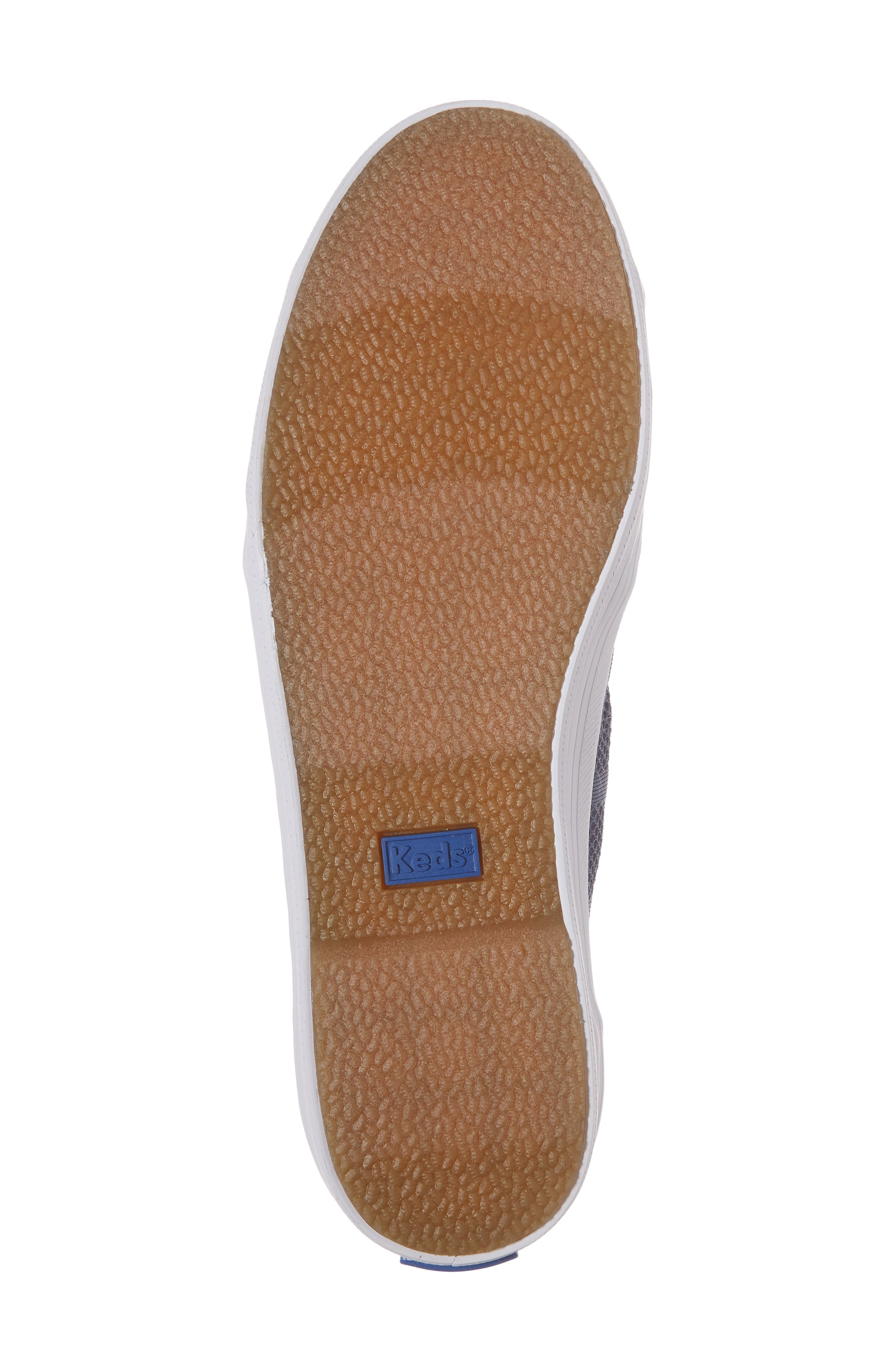 Kickstart Stripe Mesh Sneaker,                             Alternate thumbnail 6, color,                             Indigo