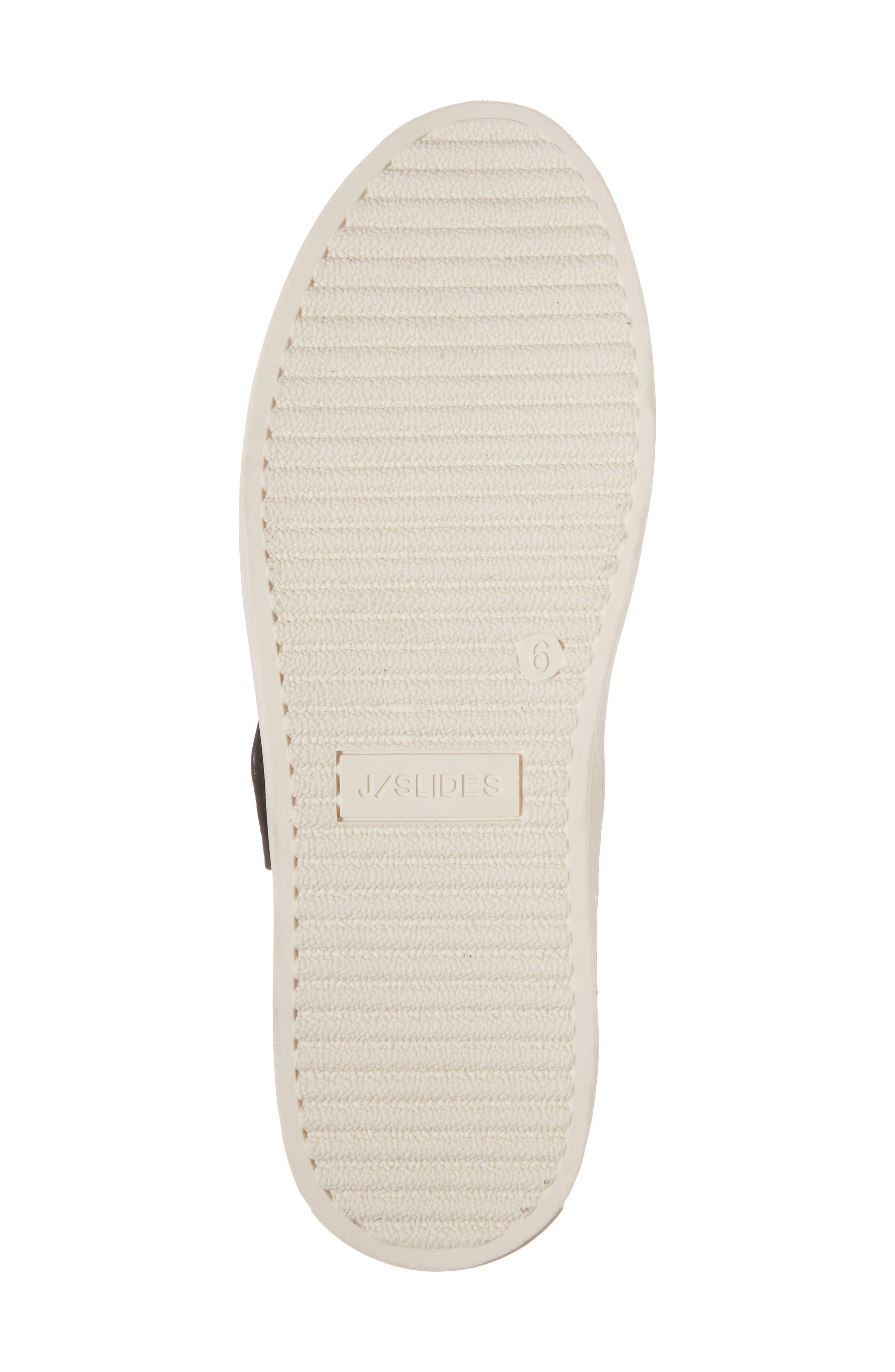 Harper Sneaker,                             Alternate thumbnail 6, color,                             Black Leather