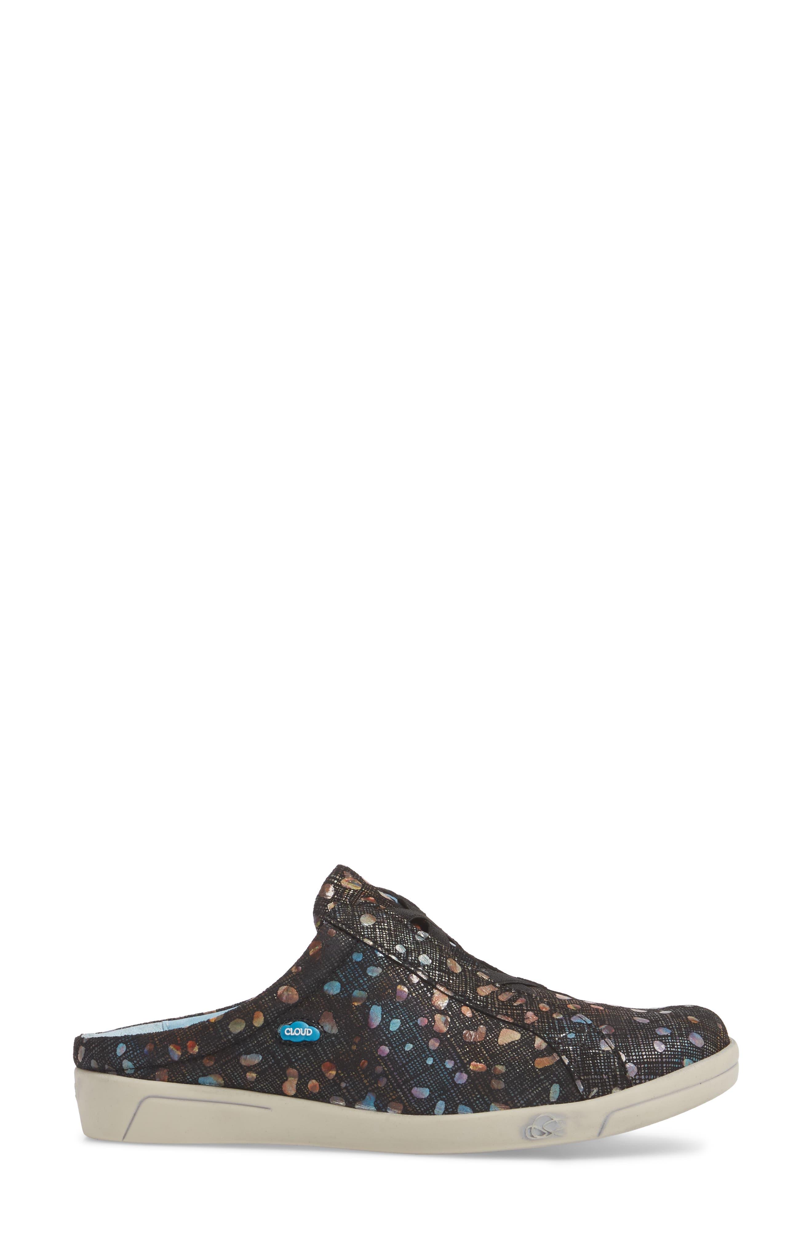 Arizona Fantasy Mule Sneaker,                             Alternate thumbnail 3, color,                             Bubble Leather