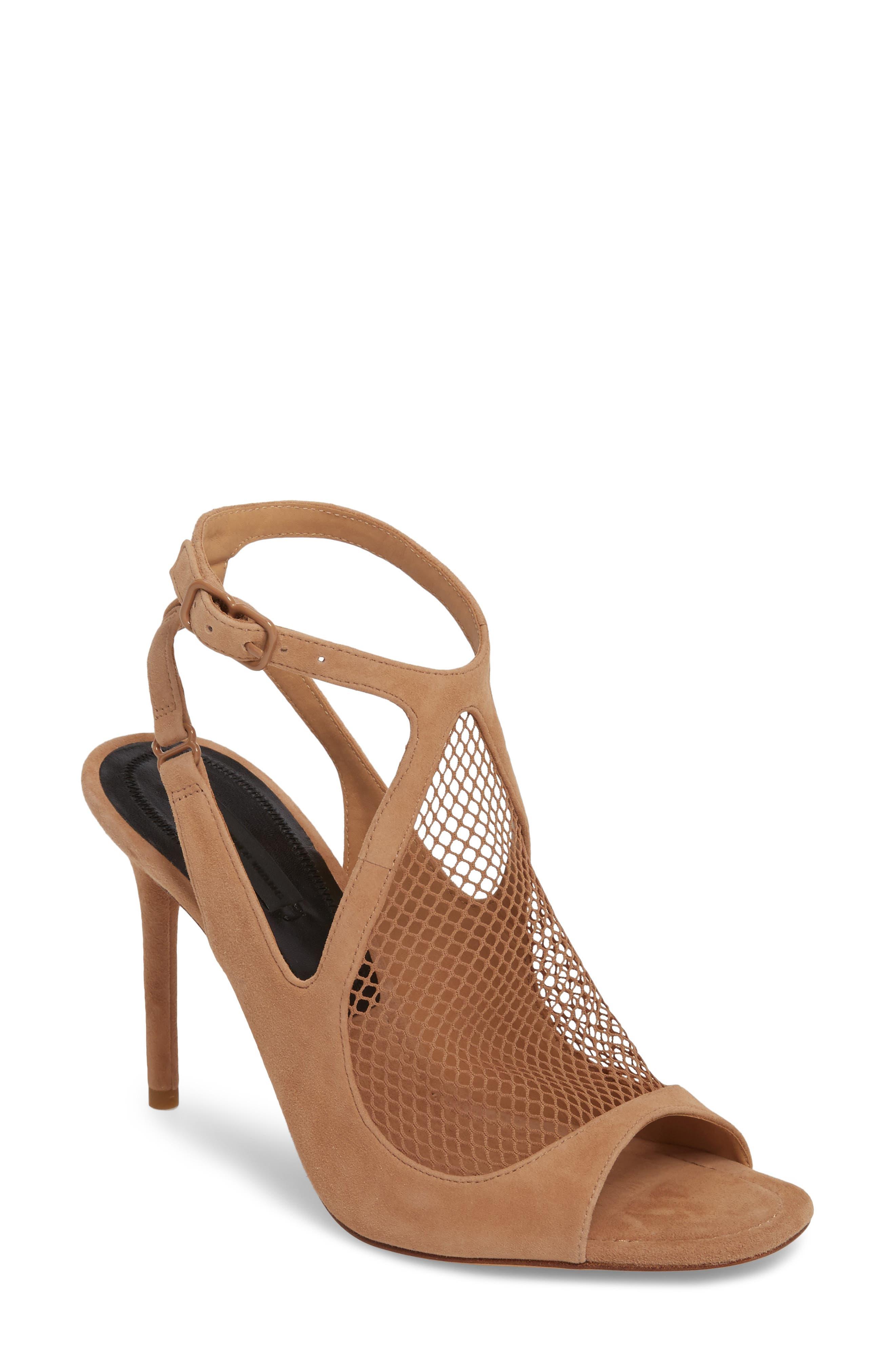Alexander Wang Piper Fishnet Sandal (Women)