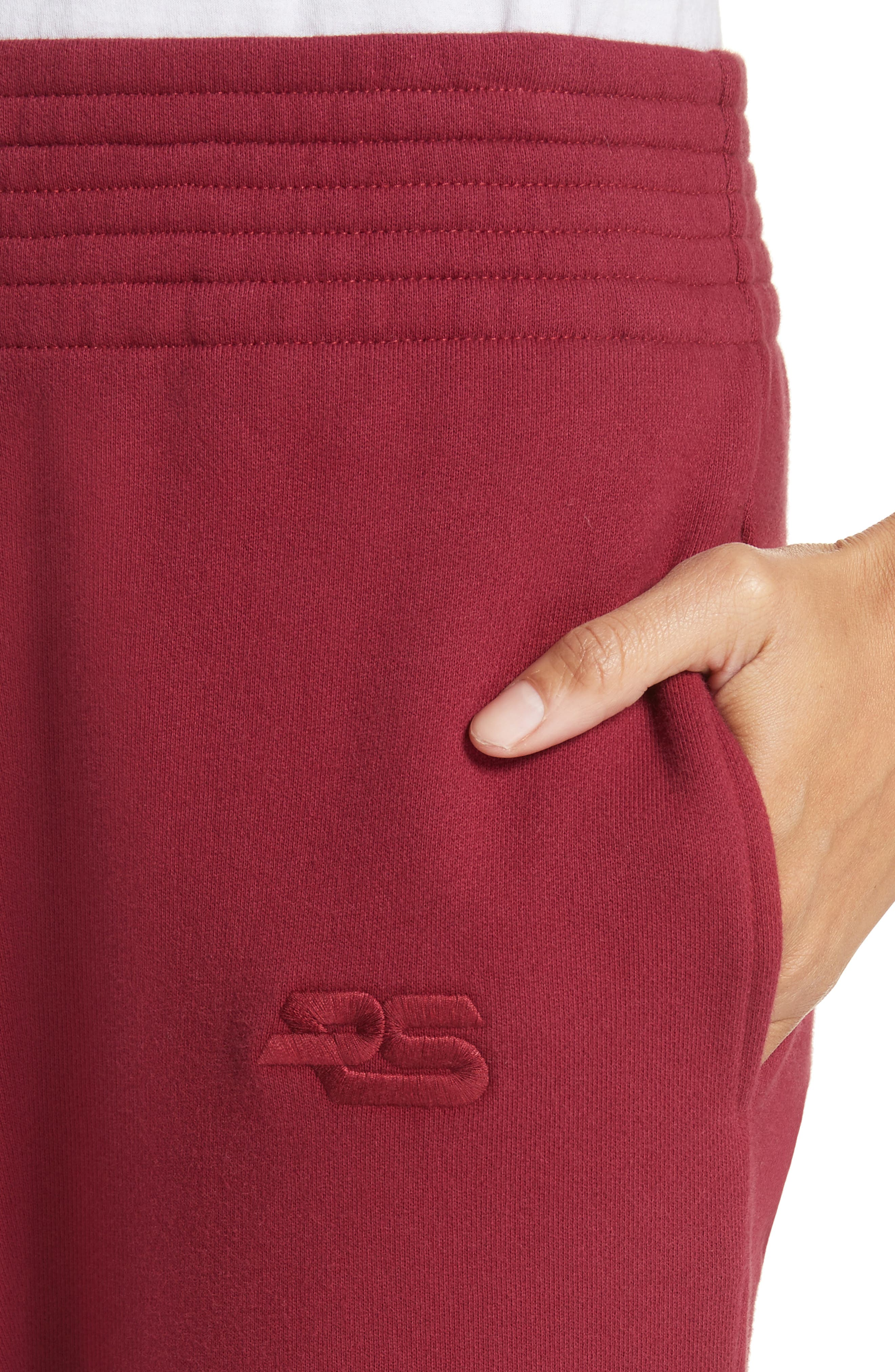 PSWL Sweatpants,                             Alternate thumbnail 4, color,                             Burgundy