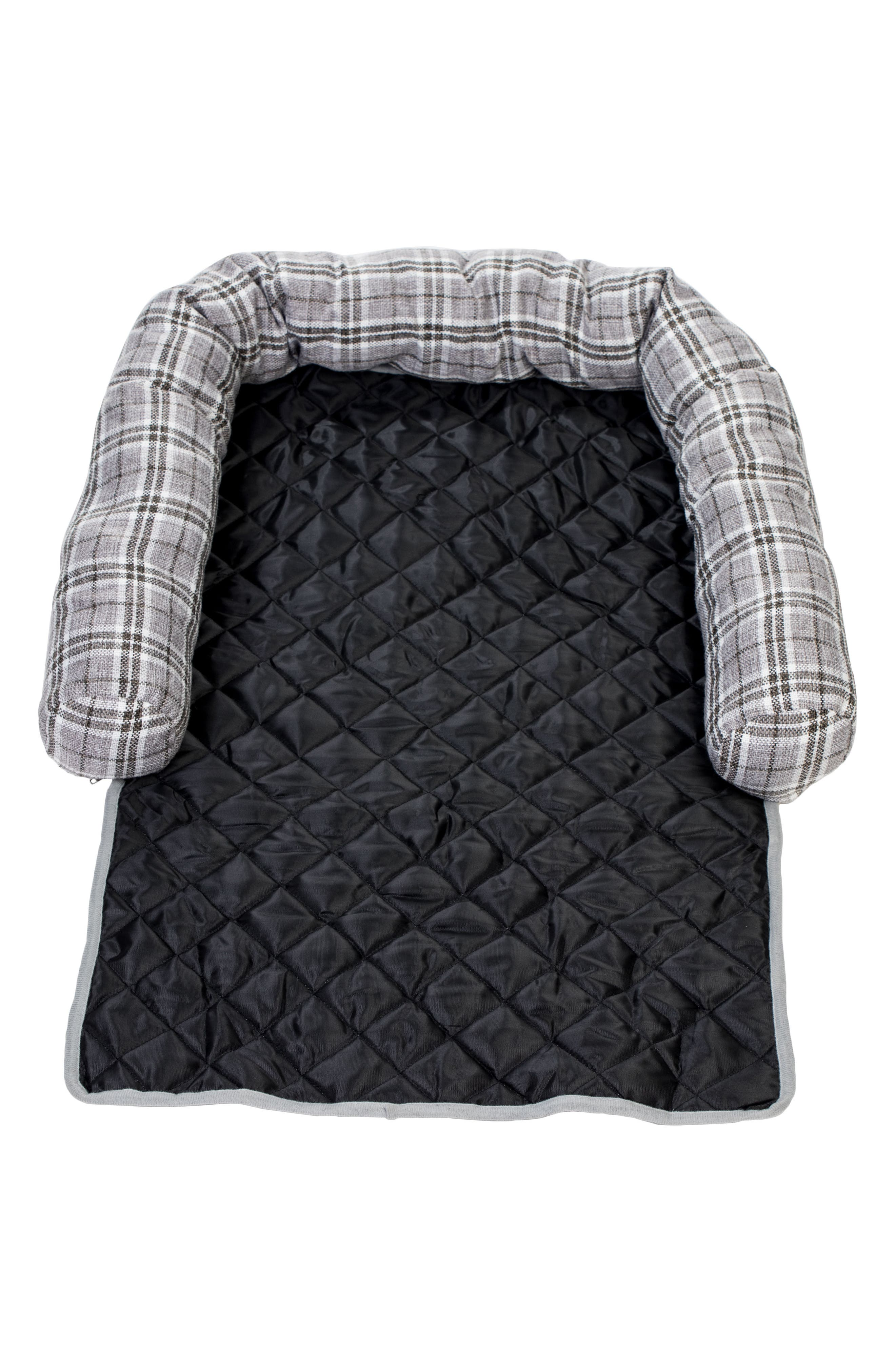 Harlee Reversible Pet Chair Cover,                             Alternate thumbnail 2, color,                             Grey