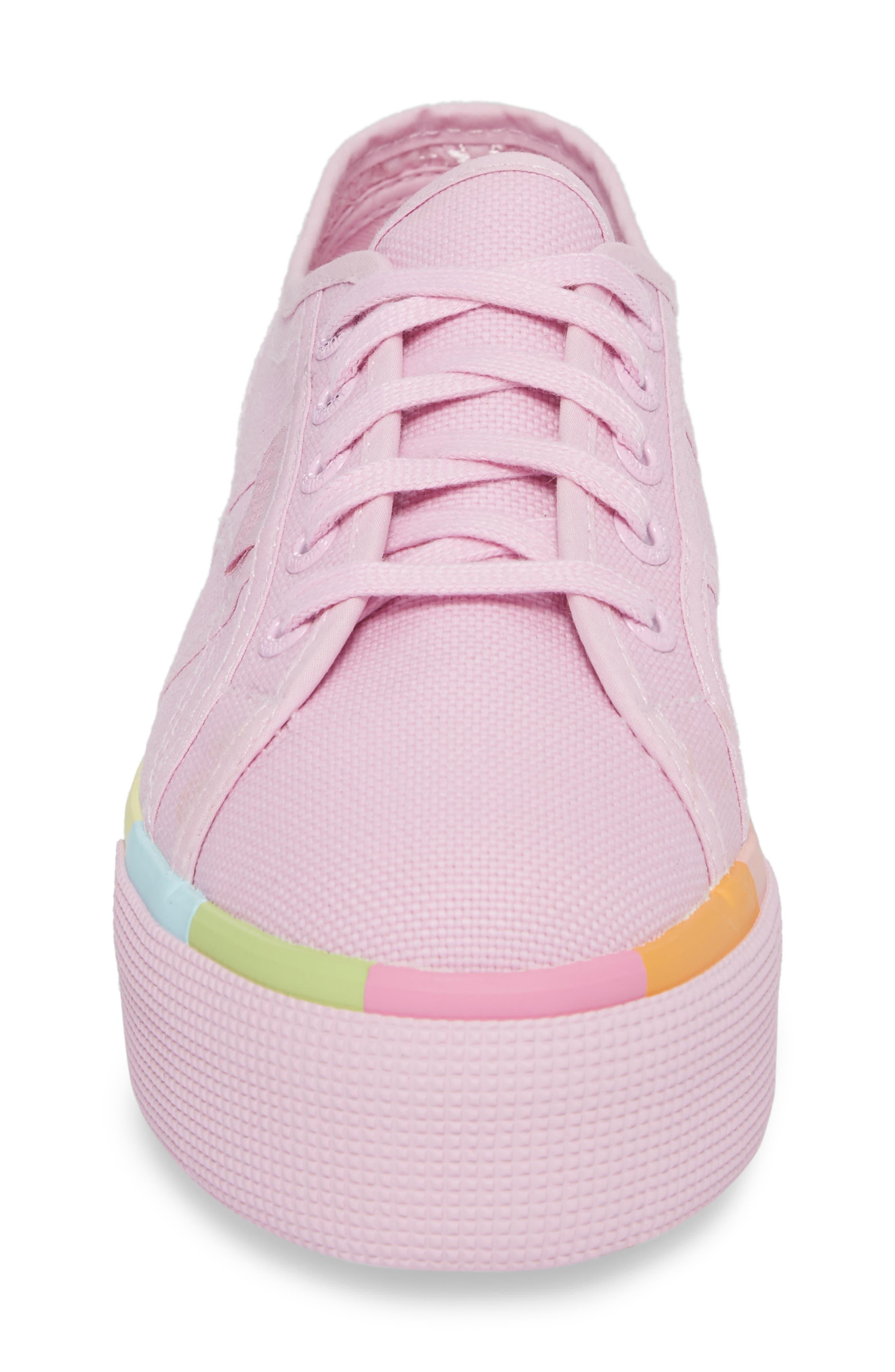 2790 Platform Sneaker,                             Alternate thumbnail 4, color,                             Pink
