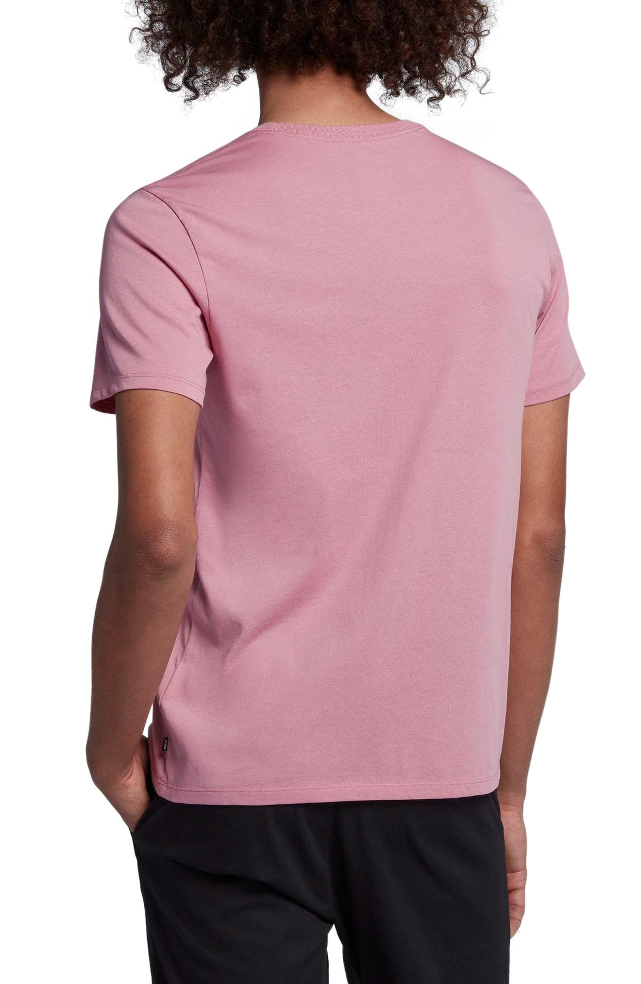 Dry Crewneck T-Shirt,                             Alternate thumbnail 2, color,                             Elemental Pink/ Elemental Pink