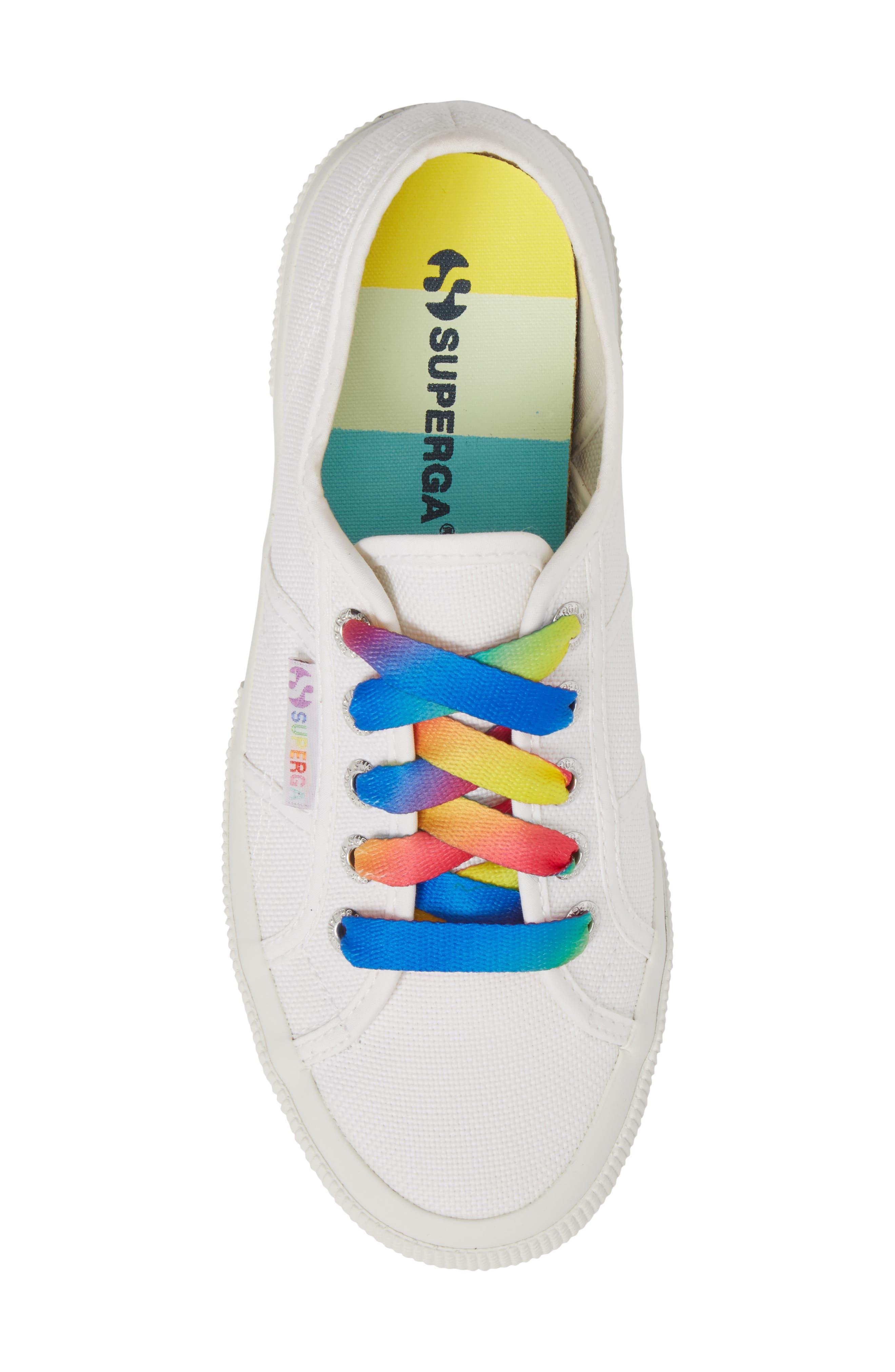 2750 Multicolor Sneaker,                             Alternate thumbnail 5, color,                             White Multi