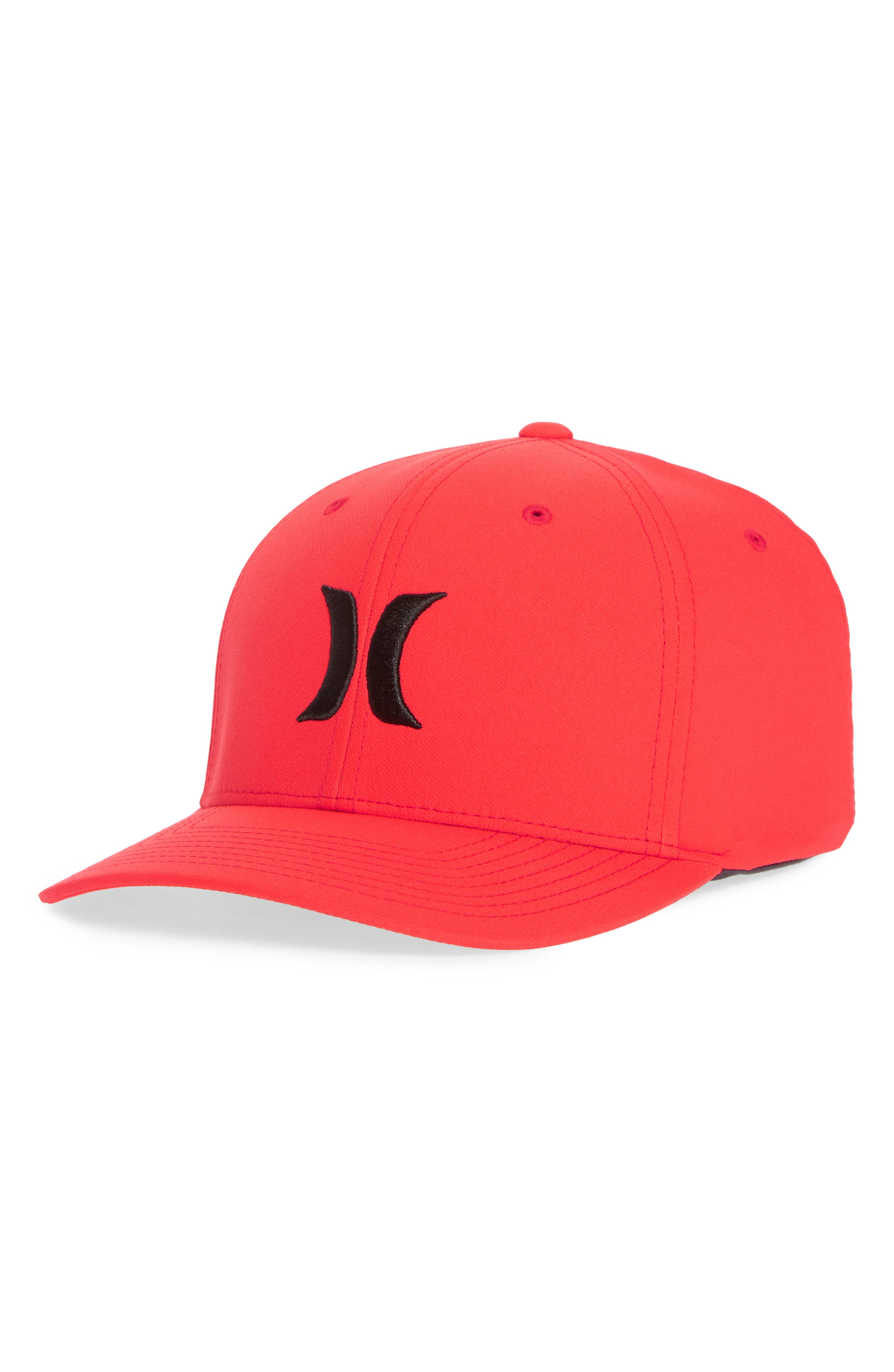 Dri-FIT One & Only Logo Cap,                         Main,                         color, Speed Red / Black