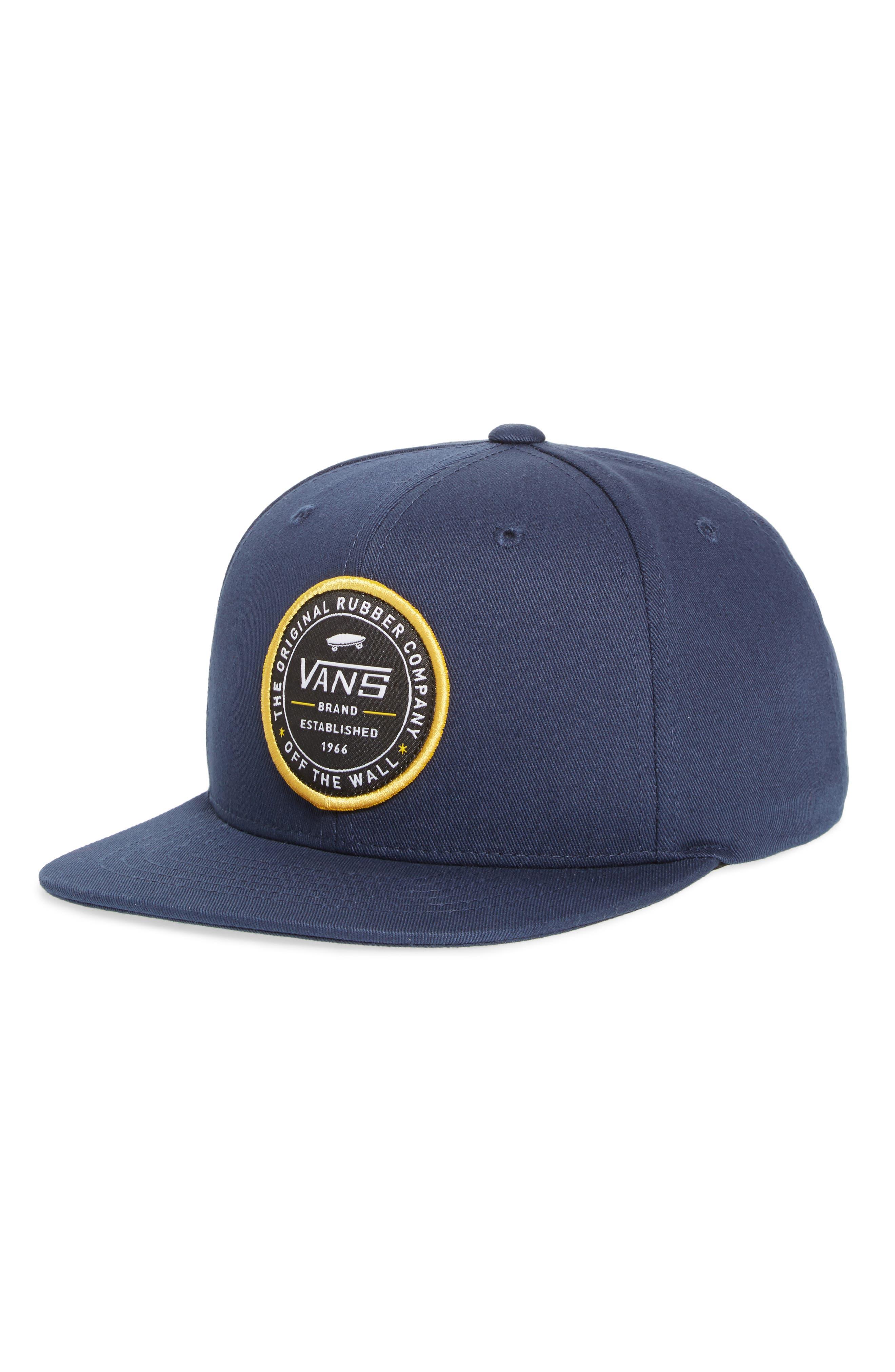 Established 66 Snapback Cap,                         Main,                         color, Dress Blues