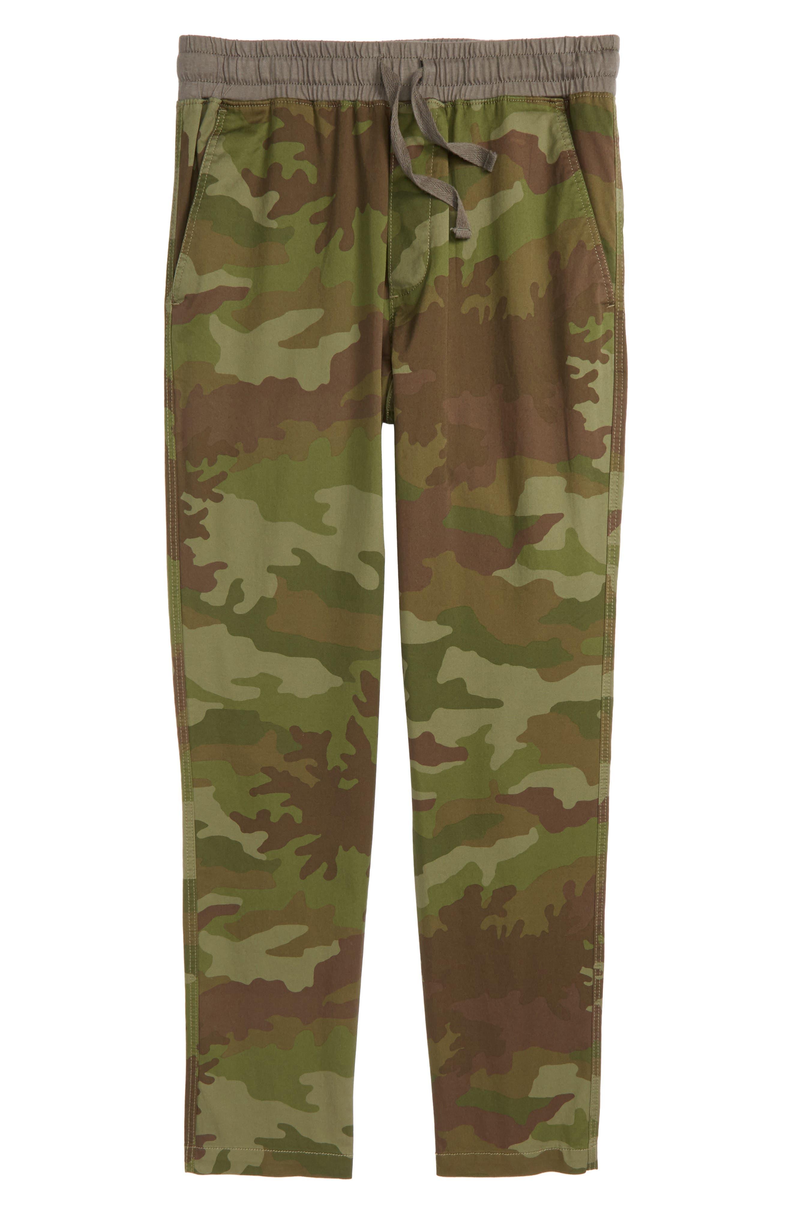 Camo Pull-On Pants,                         Main,                         color, Camo Multi
