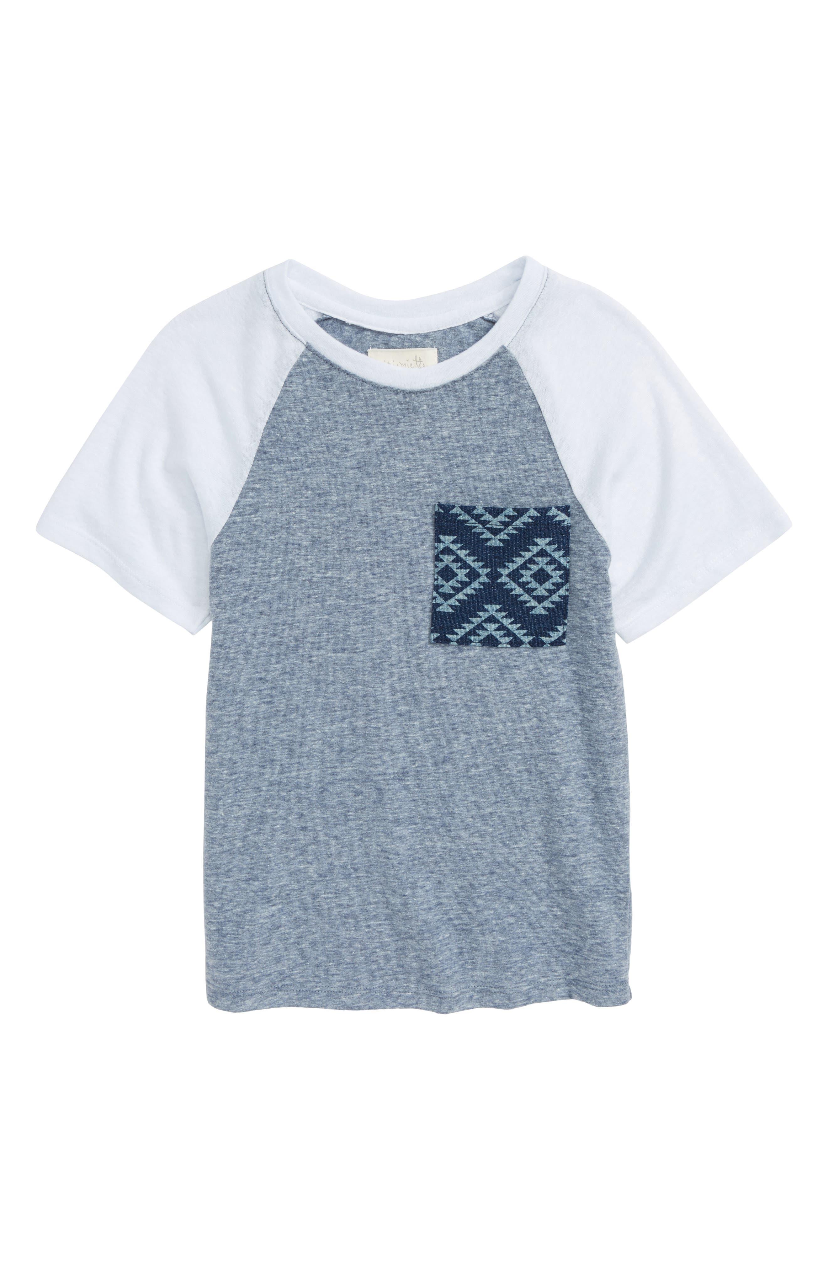 Main Image - Miki Miette Sydney Pocket T-Shirt (Toddler Boys, Little Boys & Big Boys)