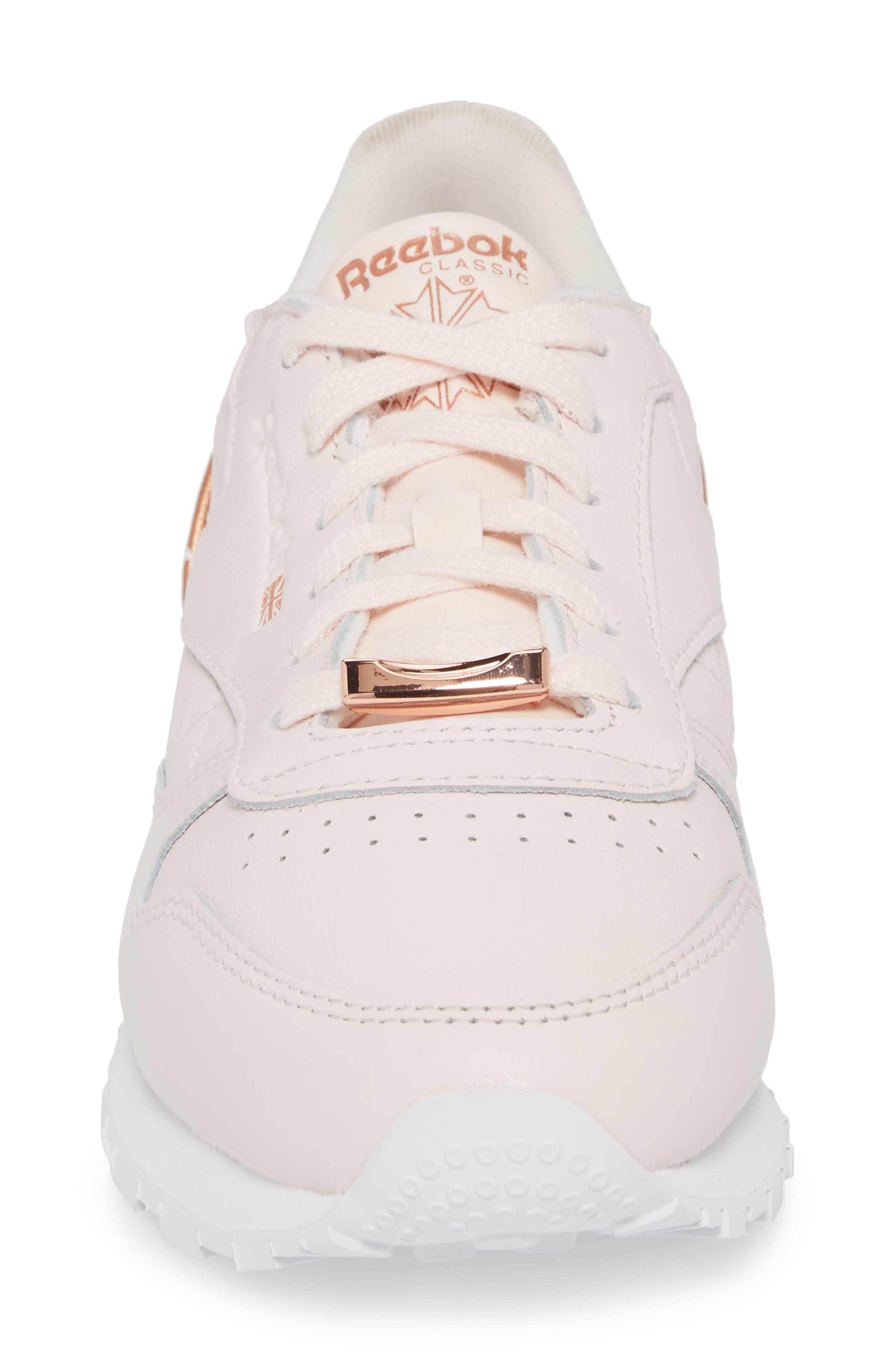 Alternate Image 4  - Reebok Classic Leather HW Sneaker (Women)