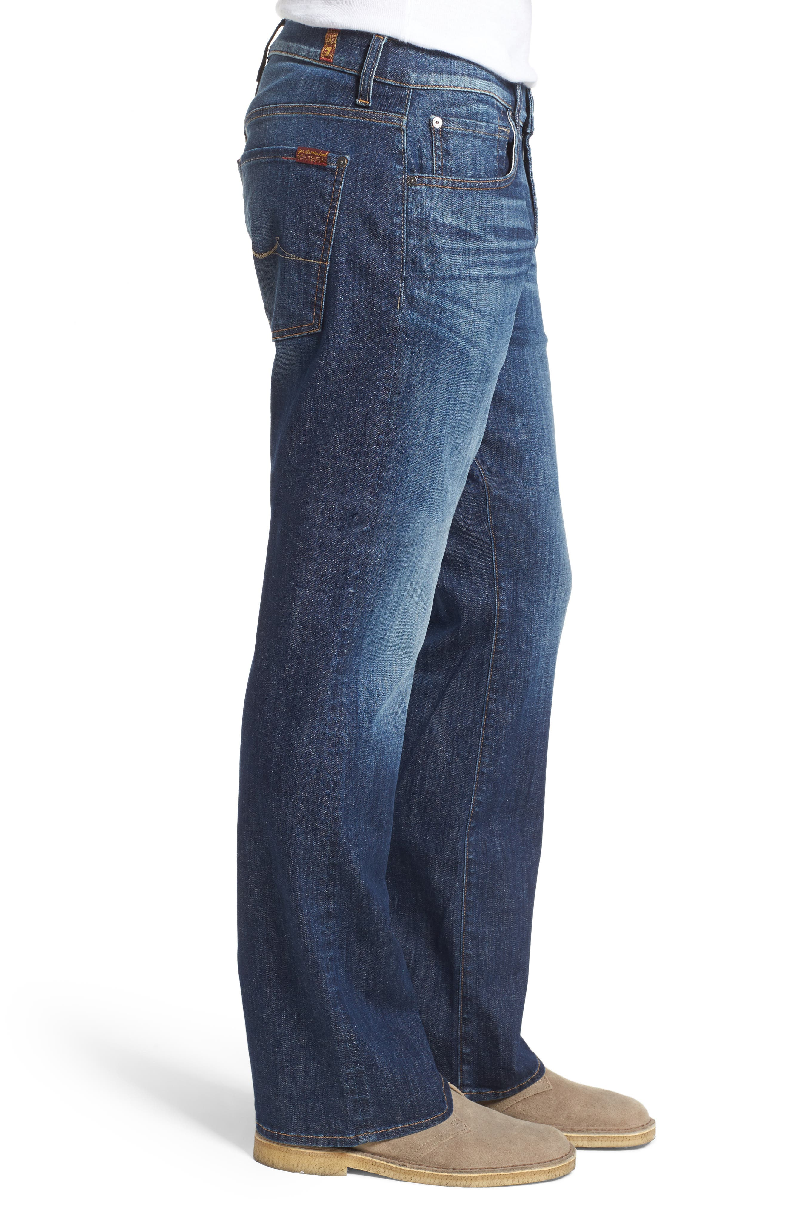 Brett Bootcut Jeans,                             Alternate thumbnail 3, color,                             West Indies