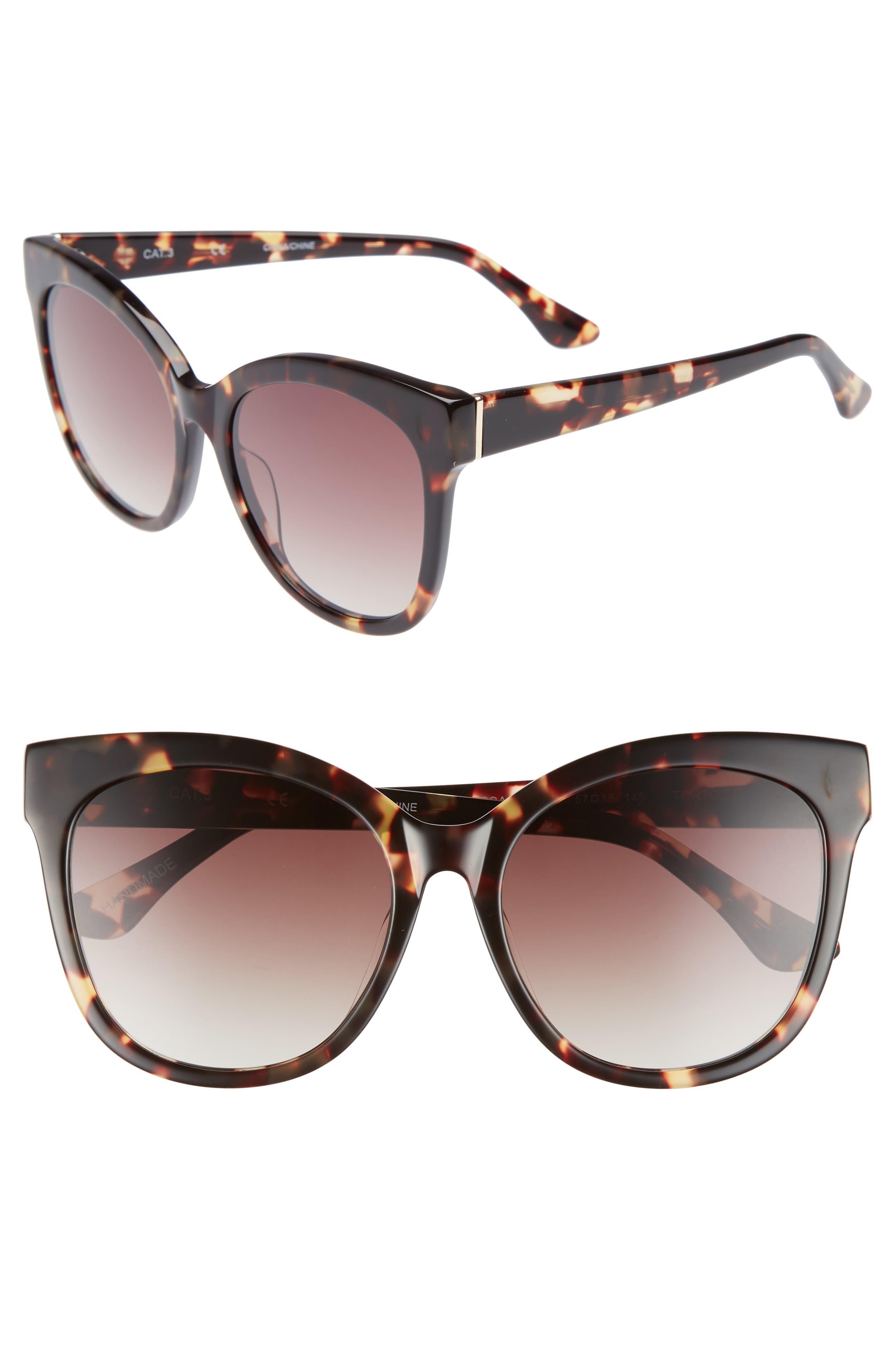 Chelsea28 Bossa Nova 57mm Cat Eye Sunglasses