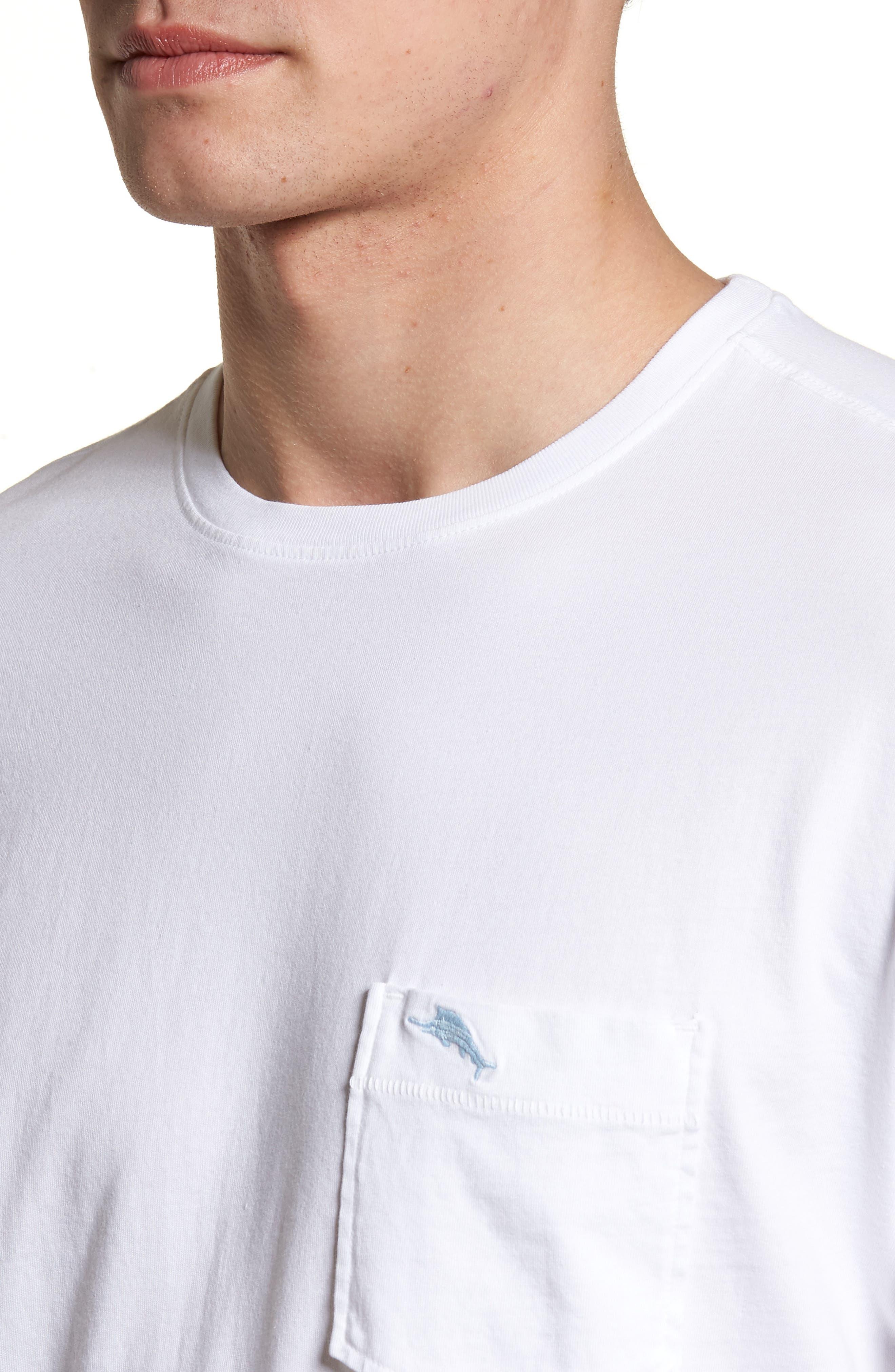 New Bali Skyline T-Shirt,                             Alternate thumbnail 4, color,                             White