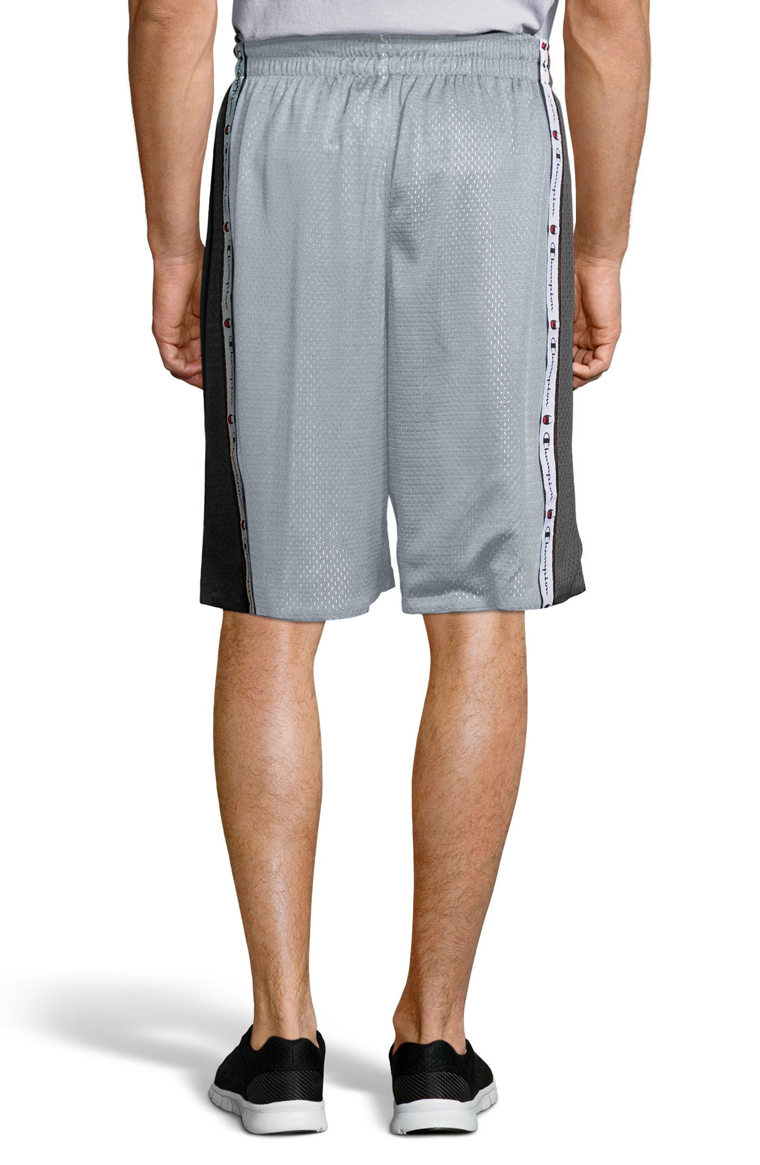 Reversible Mesh Shorts,                             Alternate thumbnail 2, color,                             Silverstone/ Black