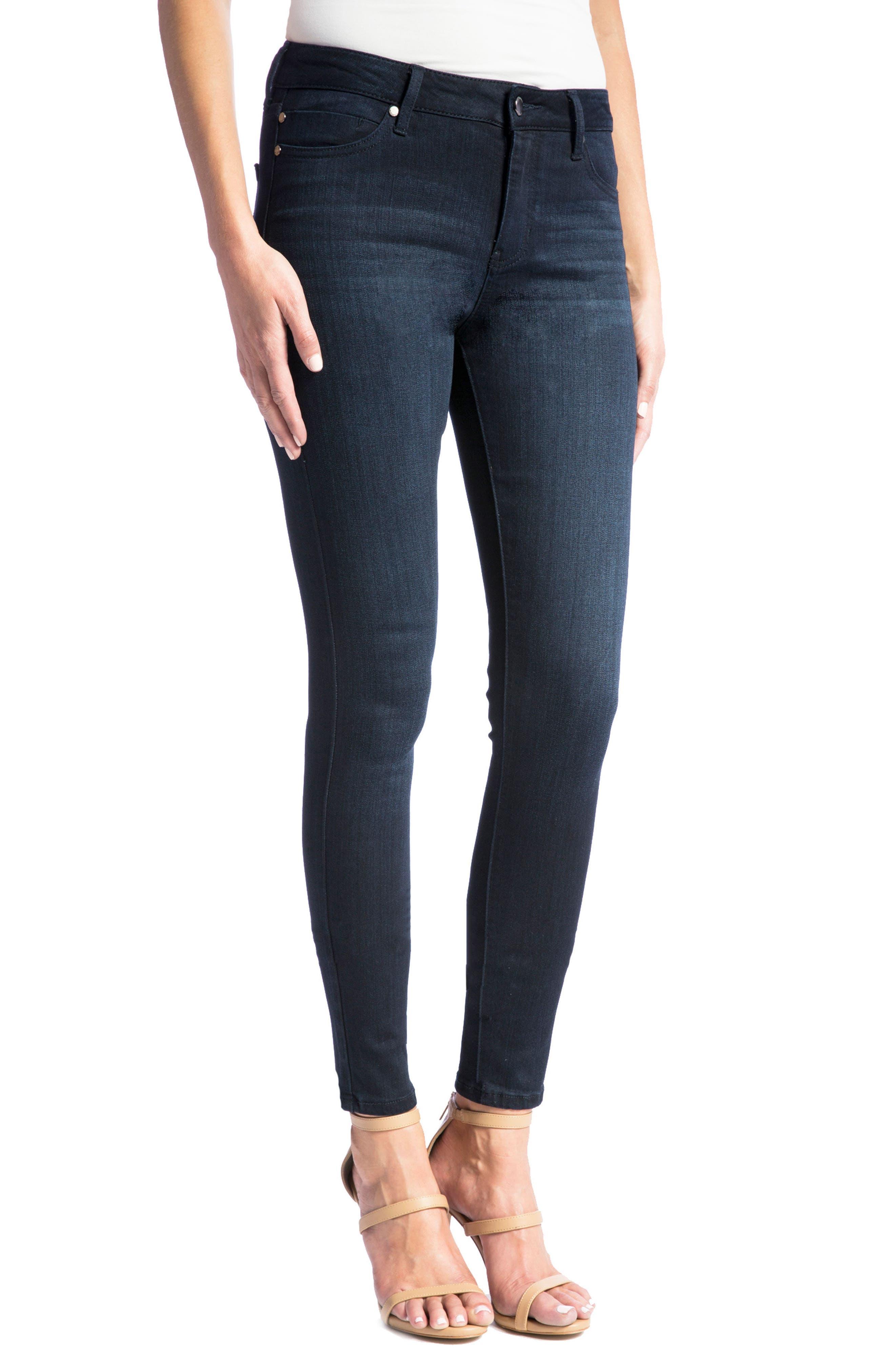 Abby Skinny Jeans,                         Main,                         color, Stonewash