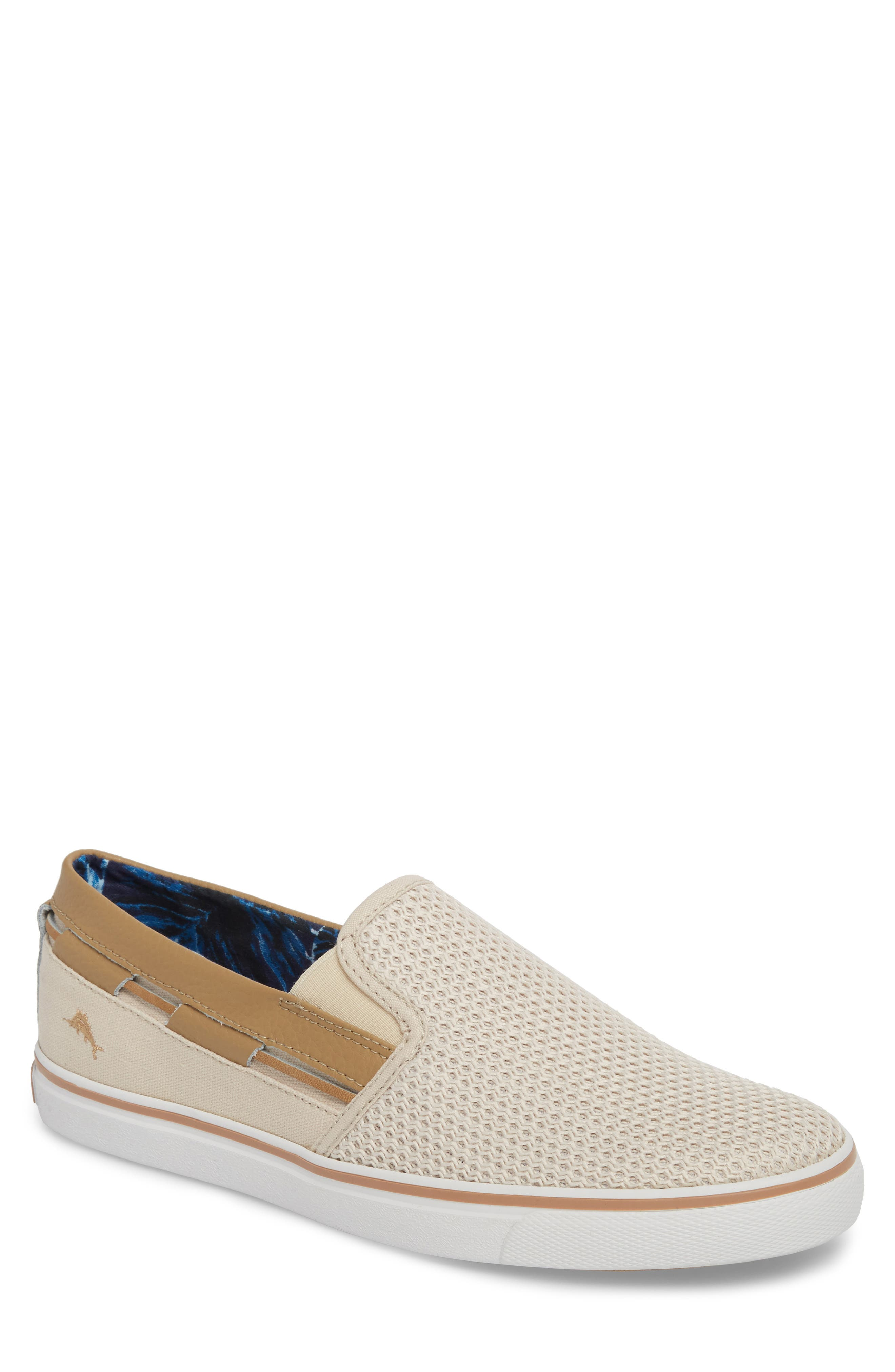 Exodus Mesh Slip-On Sneaker,                         Main,                         color, Cream Mesh/ Textile