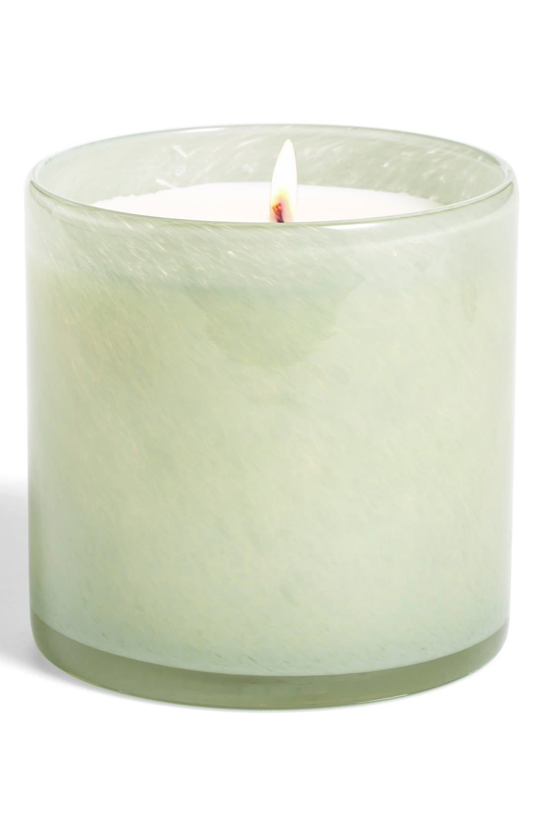 Main Image - Lafco 'Fresh Cut Gardenia - Living Room' Candle