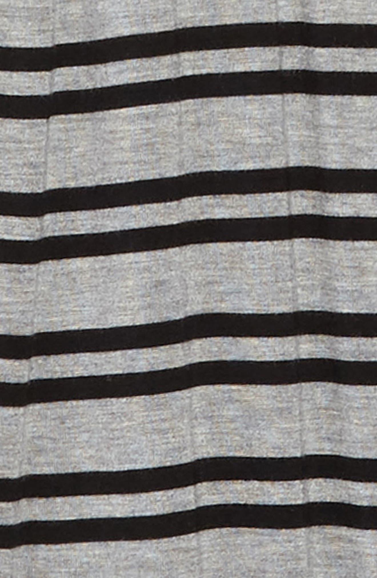 Stripe Wide Leg Knit Jumpsuit,                             Alternate thumbnail 2, color,                             Grey Medium Heather Stripe