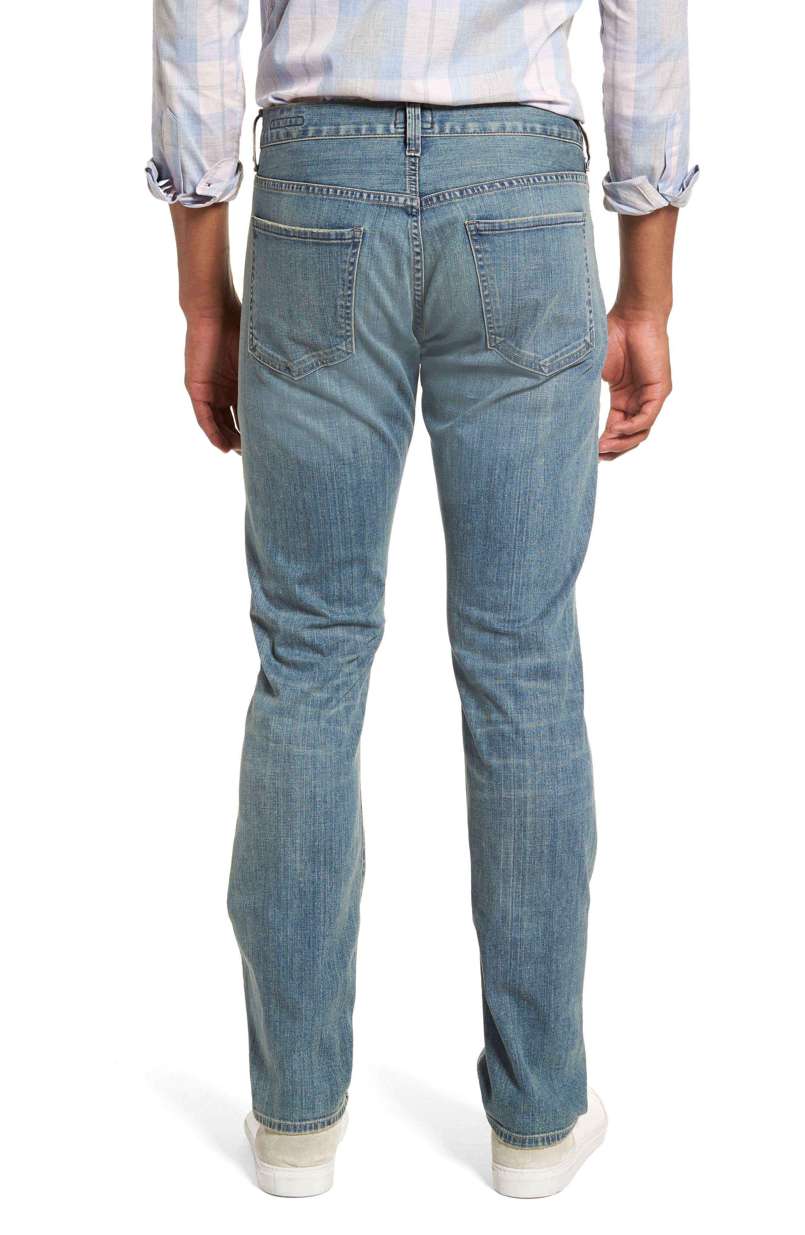 Gage Slim Straight Leg Jeans,                             Alternate thumbnail 2, color,                             Adler